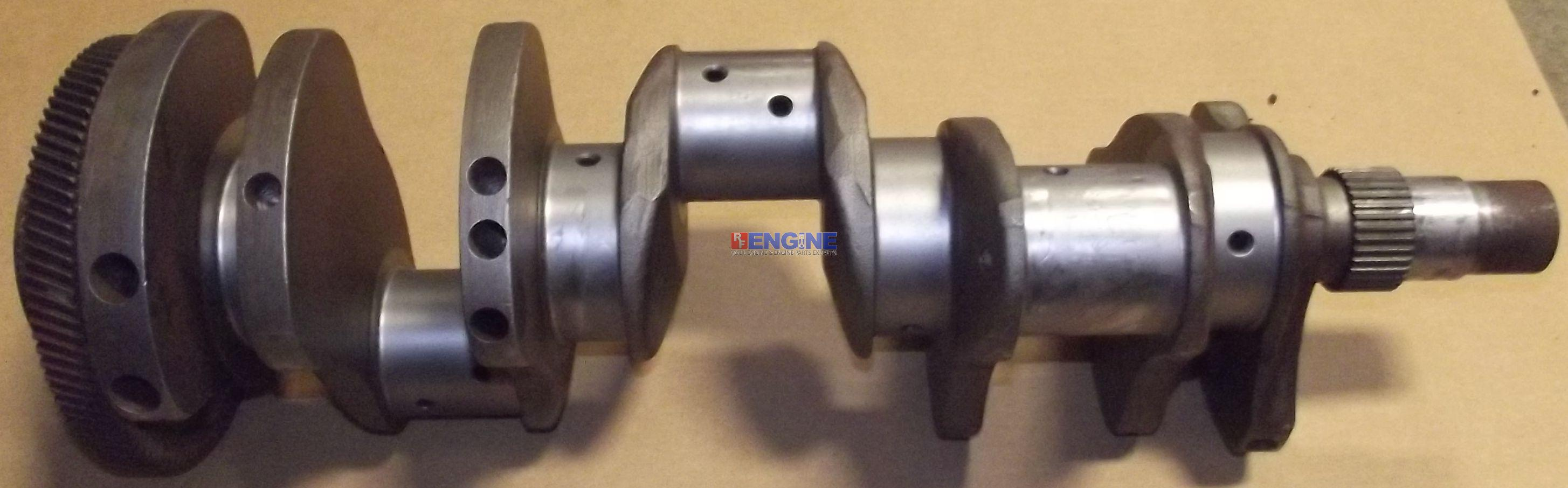 Details about Crankshaft Remachined Detroit Diesel 318 5116030 Stroke:  4 50