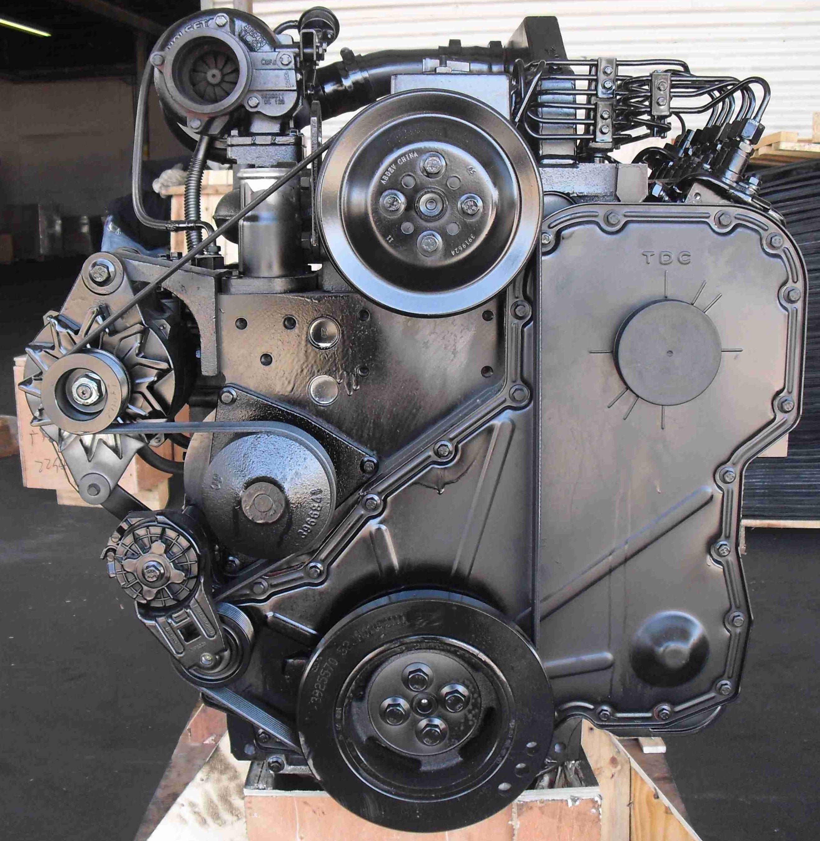 engine new cummins 6cta 8 3 cpl 722 top mount turbo 24 volt 6 cyl diesel. Black Bedroom Furniture Sets. Home Design Ideas