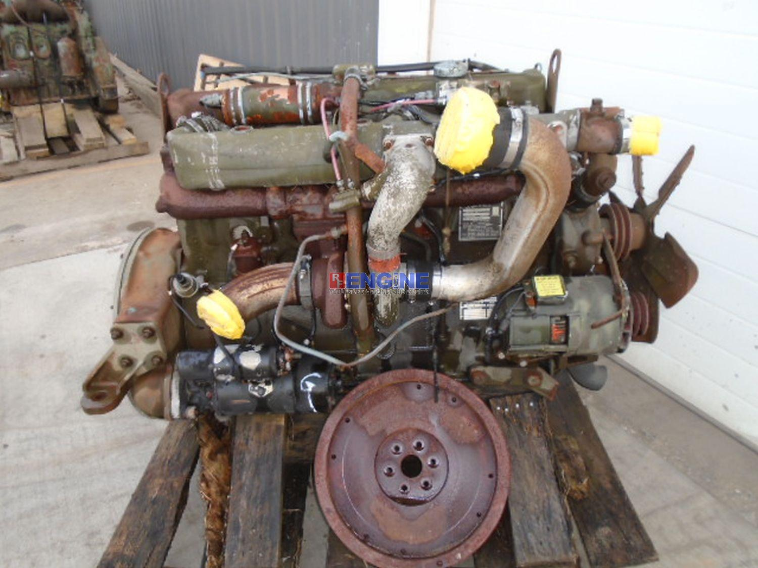 Details about Continental LDT-465-1D, Hercules 478 OEM Engine Complete  Deuce-And-Half