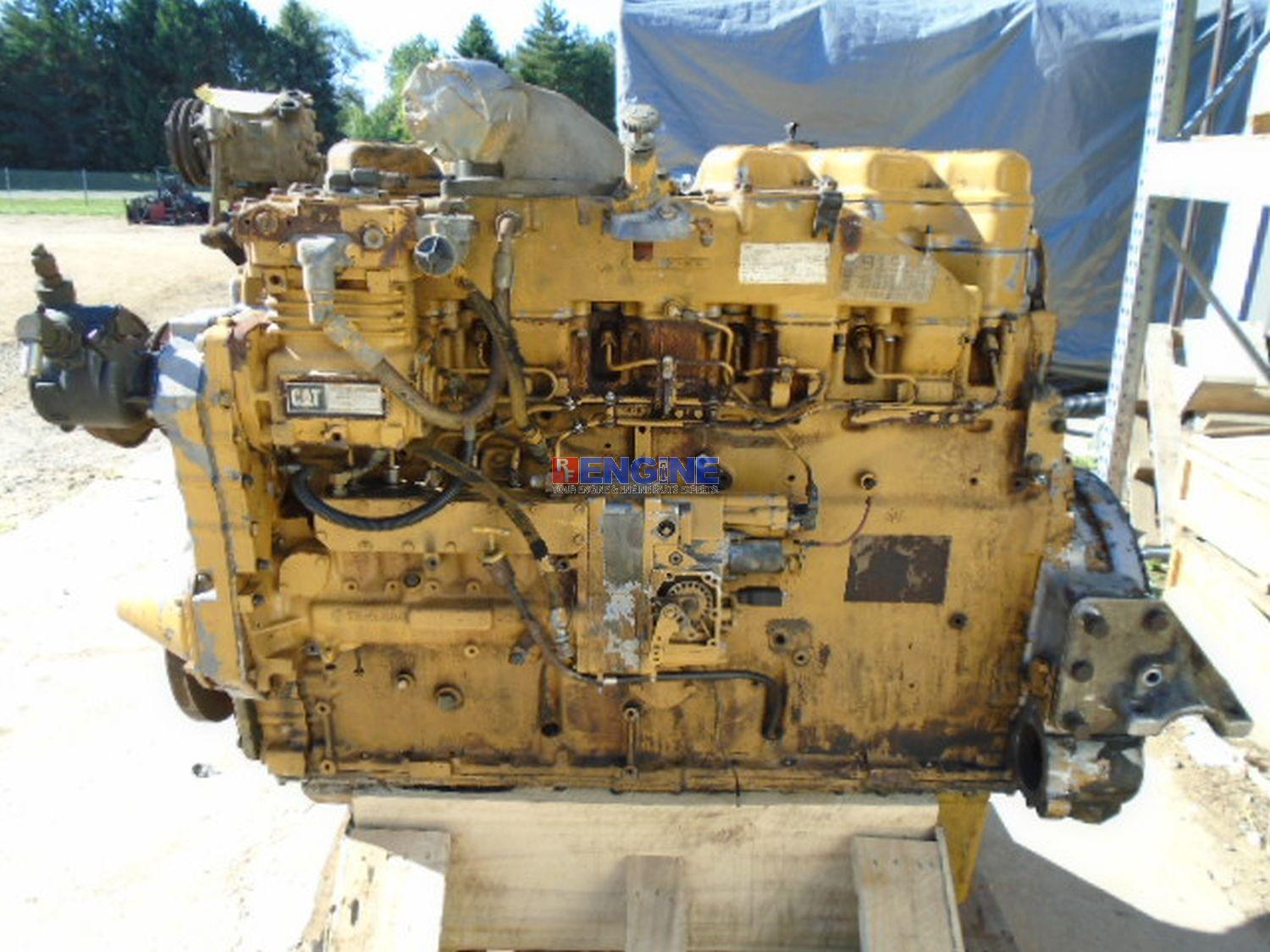 Image is loading Caterpillar-3406-C-14-6L-Engine-Complete-Fully-