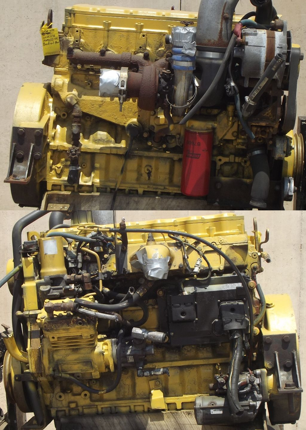 181936041713 moreover 200 Gallon Skid Mounted Pressure Washer Sprayer For Pickups And Flatbeds as well Caterpillar Ct C12 Cylinder Head Reman R502120 R504243 R515452 R115594 in addition Continental F124 Engine Block Used F124a300 Flat Head Still Has Valves In Block additionally Detroit Diesel 6 71. on caterpillar engine overhaul kits
