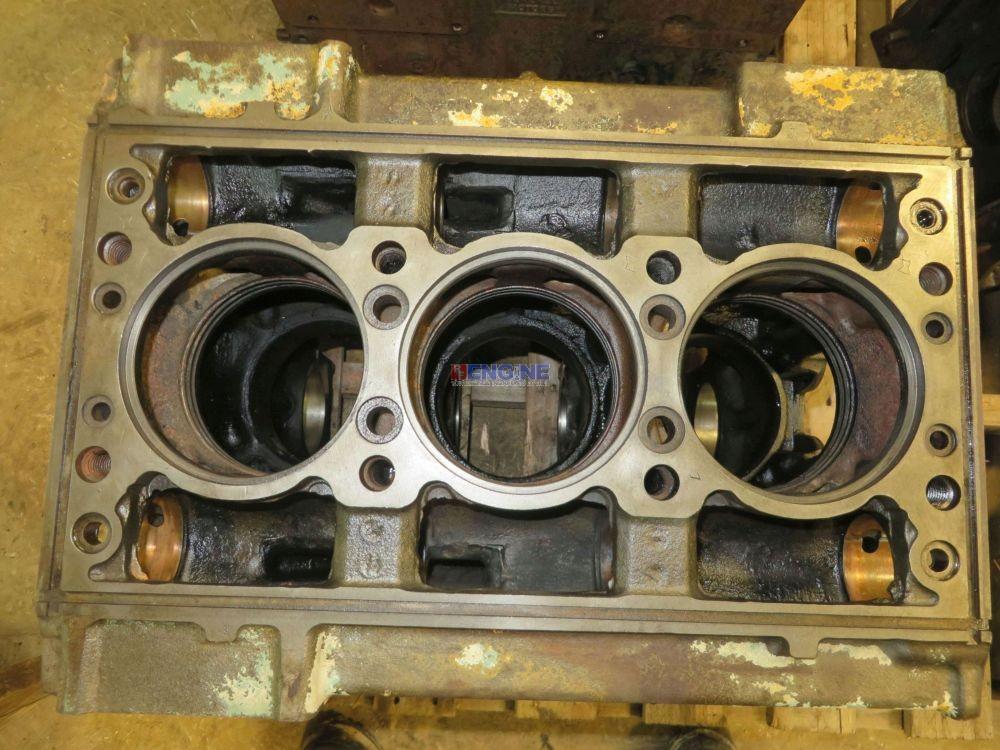 Detroit Diesel Dt 3 53 Engine Block Good Used 5125423 3 Cyl Dsl