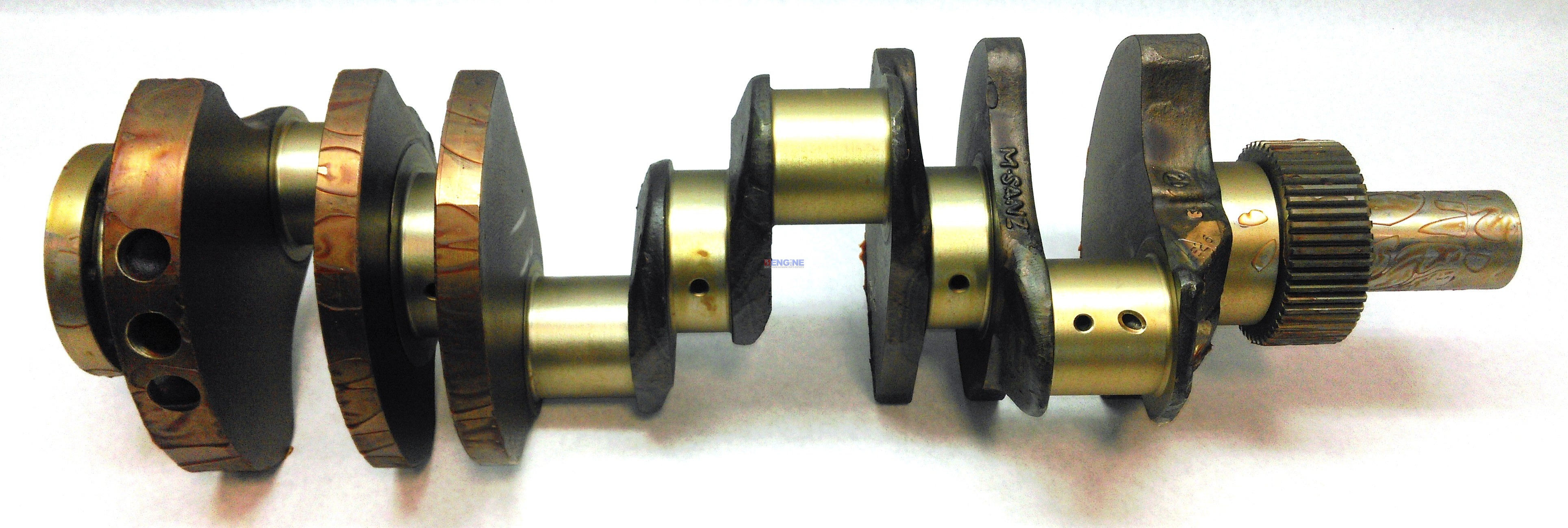 Caterpillar crankshaft new forged 3208