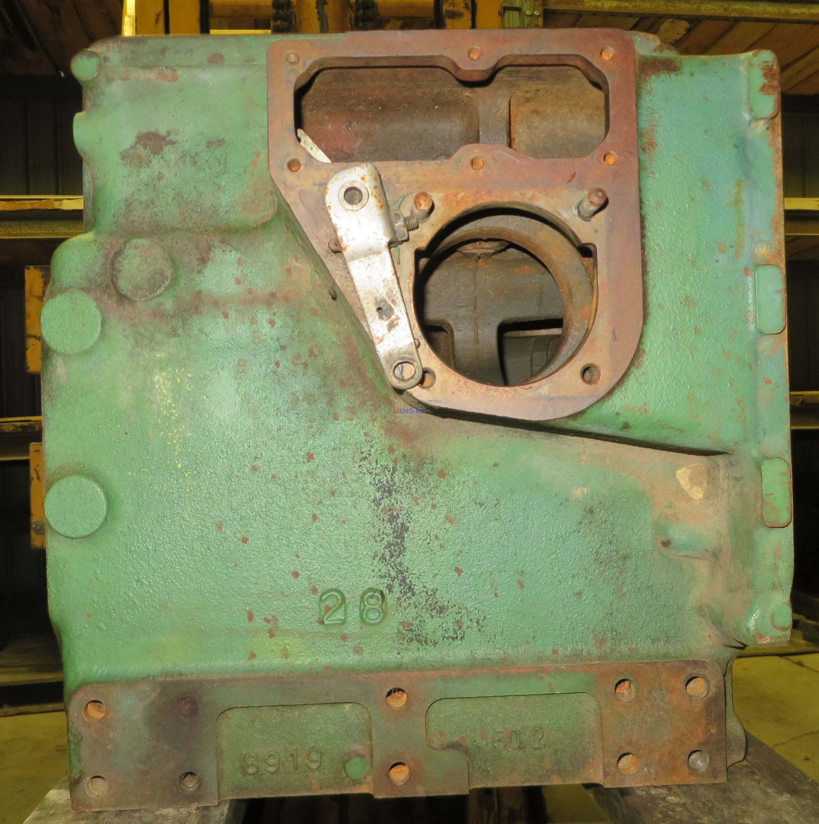 Yanmar 3T80J Engine Block Good Used 6919 Good Used Take Out 3 Cyl Diesel