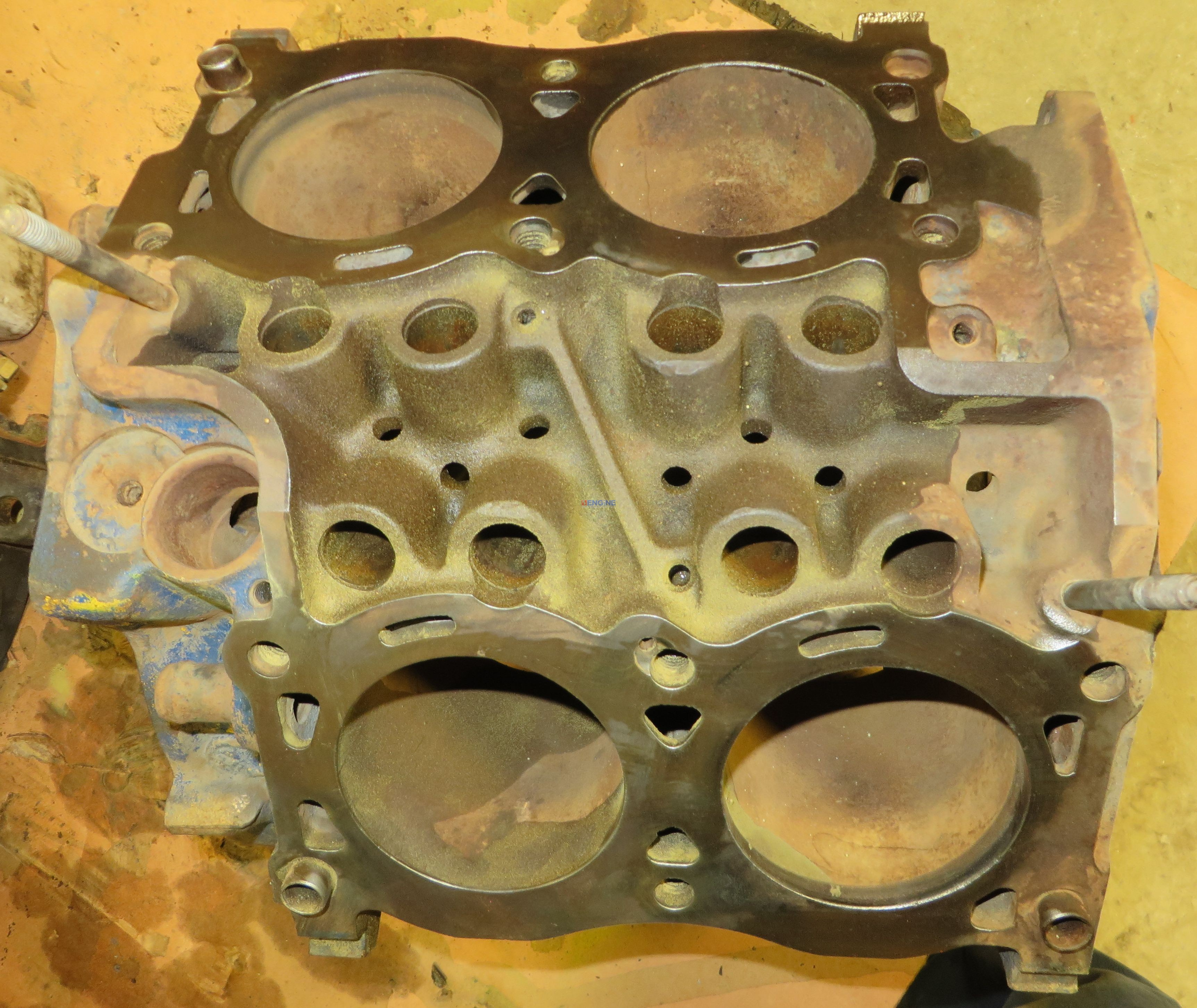 material use in engine block Metalink cracked engine block repair kit a cracked engine block can be returned to service using metalink ml400 machinable repair™ compound and affecting the.