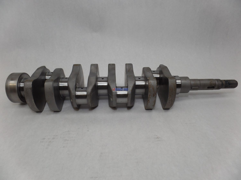 Kubota V1702, V1902 OEM Crankshaft Remachined 08/08 Rods/Mains 6598130,  6649299