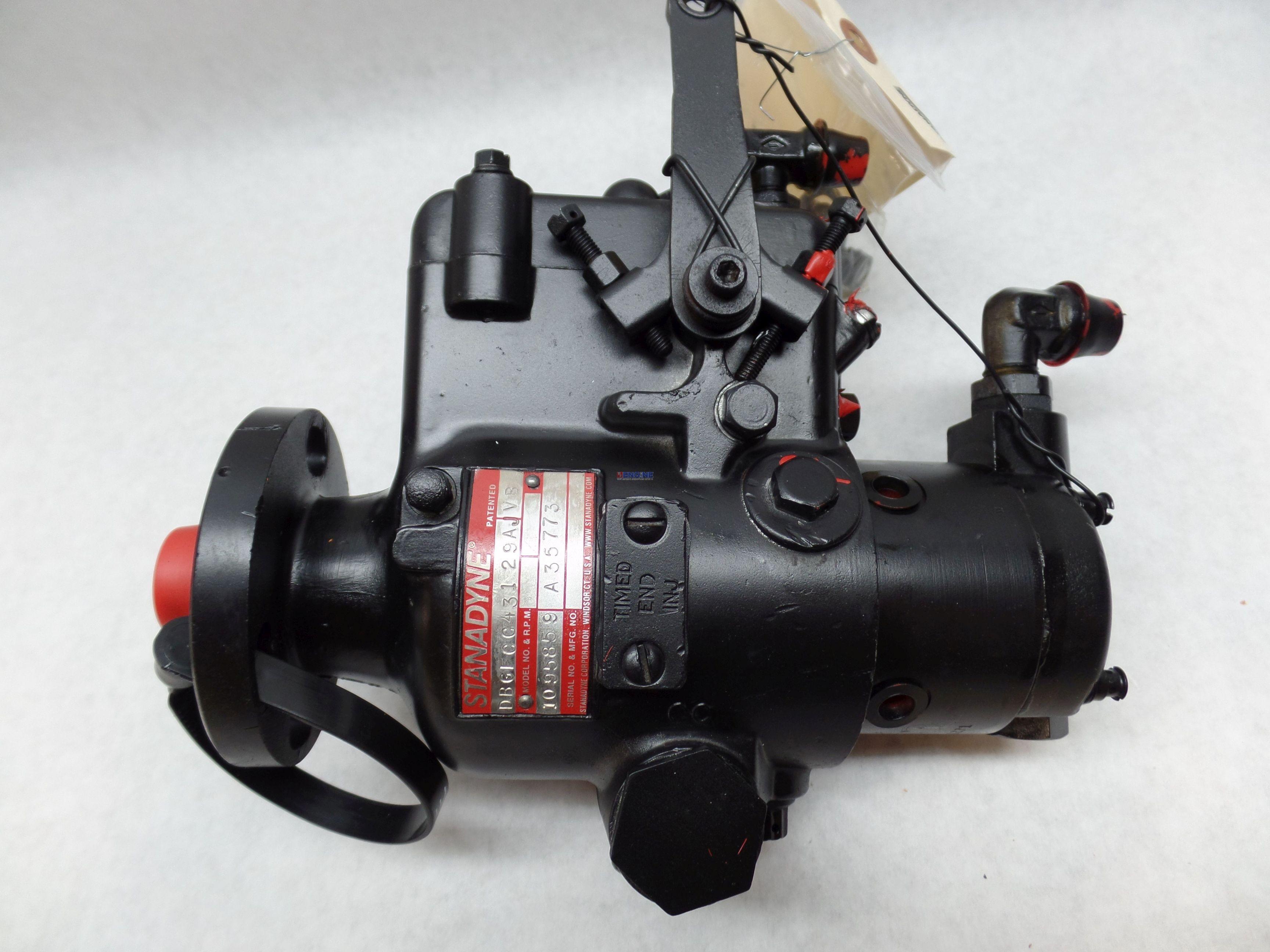 Case Cs 188d Injector Pump Rebuilt Dbgfcc431 29aj Vb