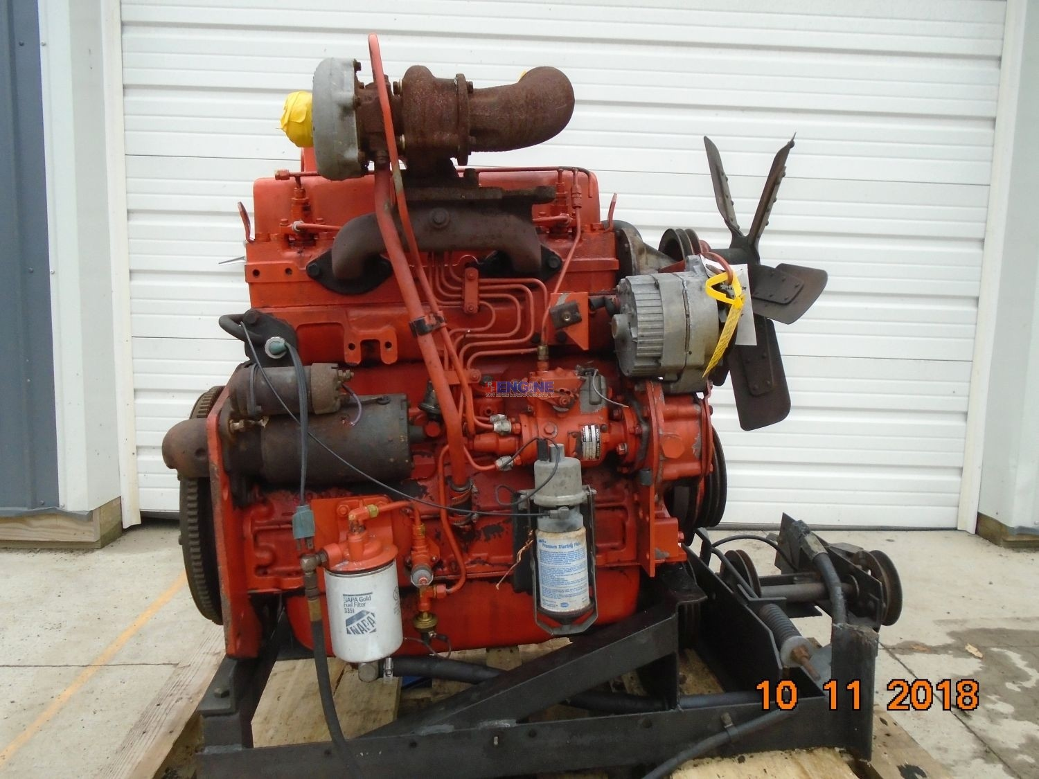 R. F. Engine Allis Chalmers 433I, 200T Engine Complete Runner ESN: 33-01954, Catalog#: 400780
