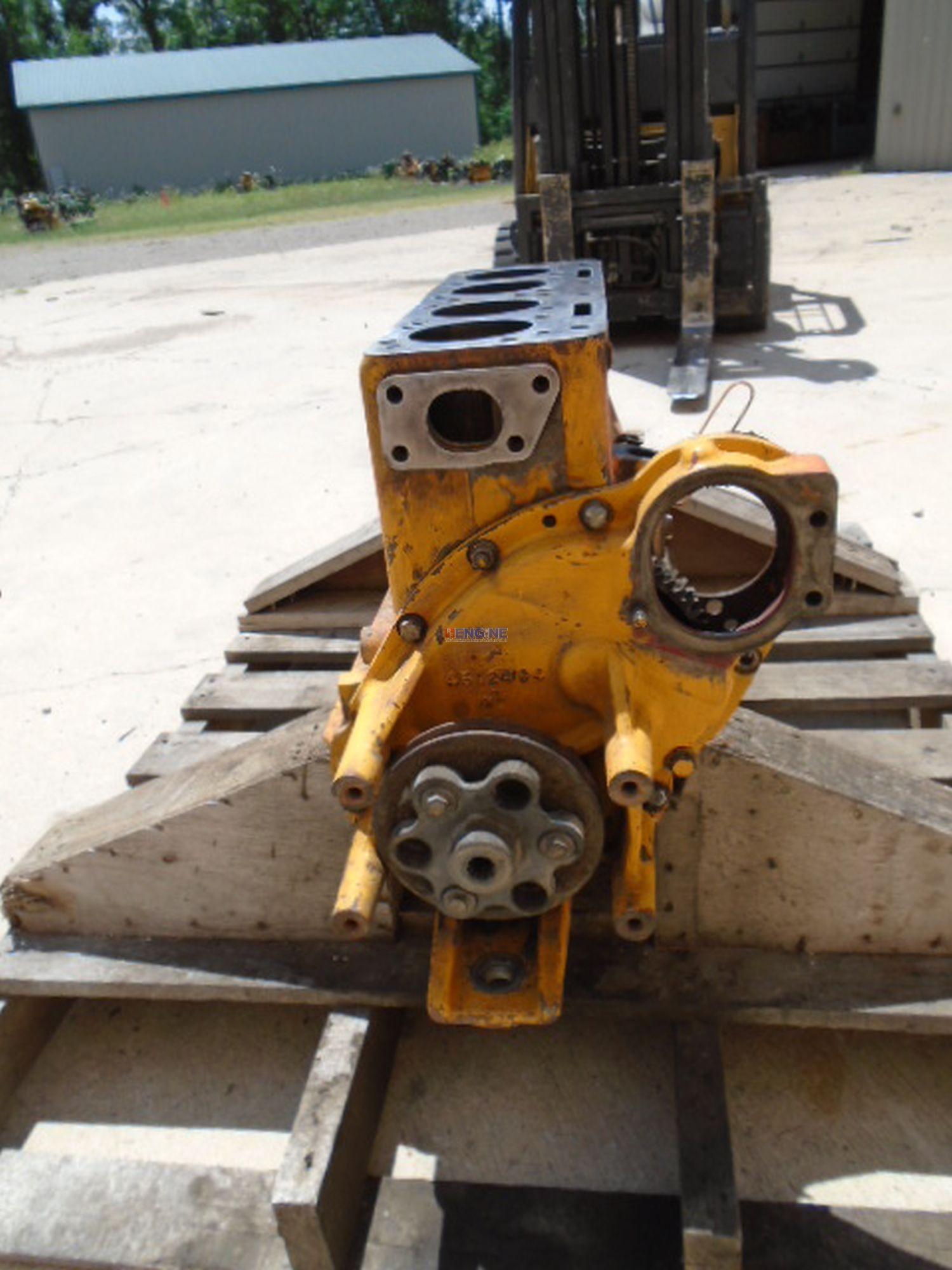 Allis Chalmers G153, Buda 4B-153, 2 5L Engine Short Block Used 4696380BL