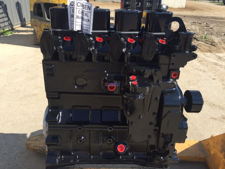 Cummins 4bta 3 9l Engine Long Block Rebuilt Piston 3802561