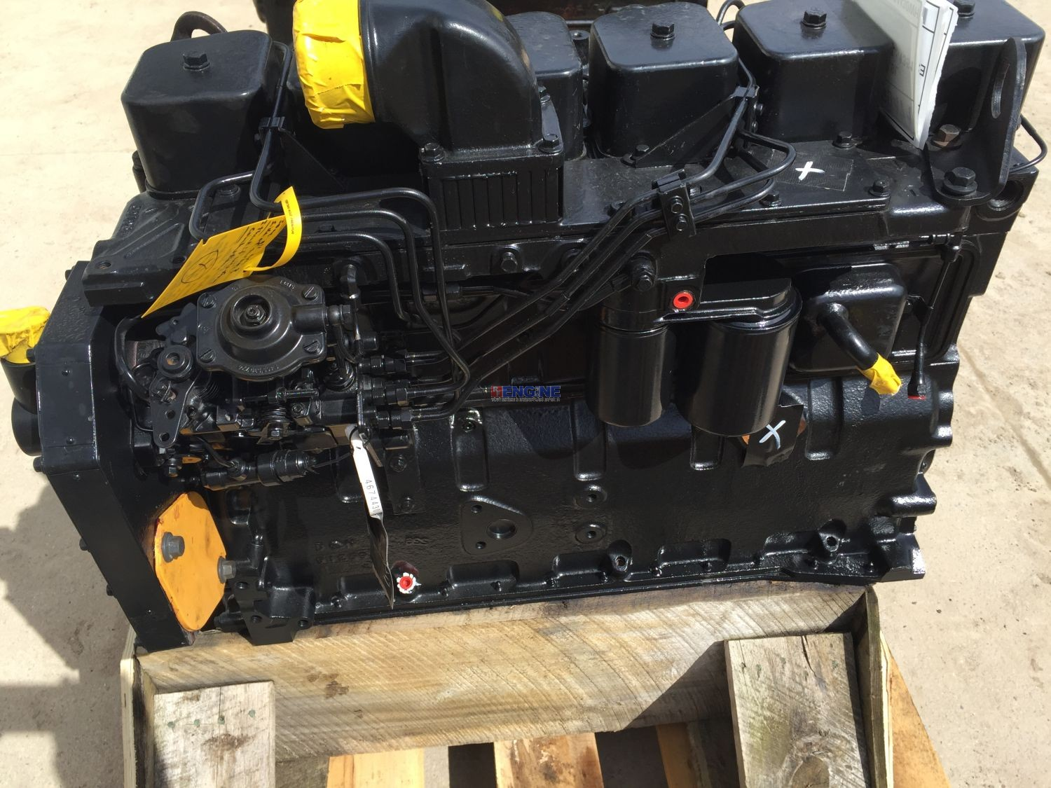 R. F. Engine Cummins 6BT 5.9L Engine Complete Recondition 4674430WH
