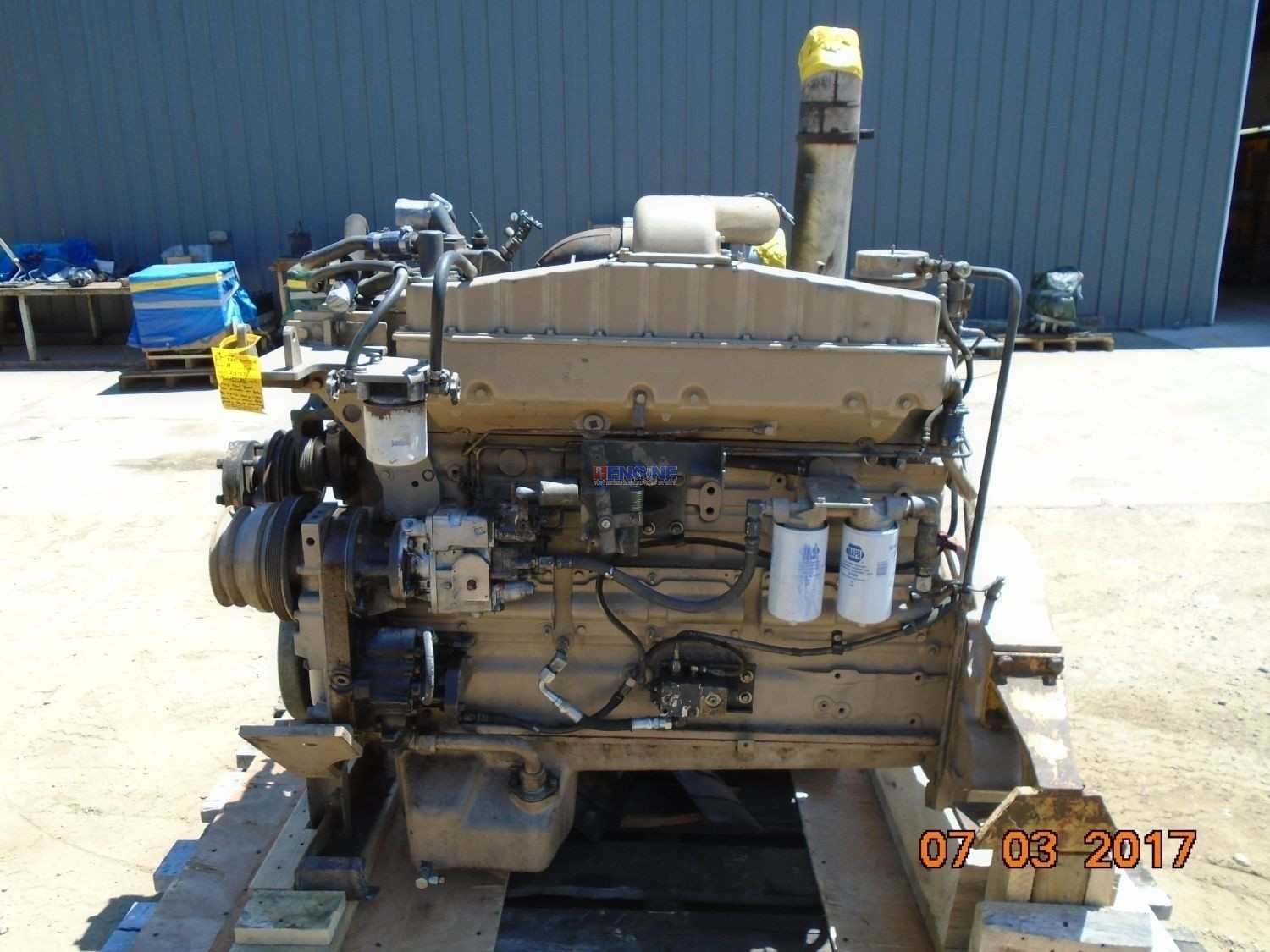 Cummins NTA-855-A (375) OEM Engine Complete Rebuilt Big Cam 3 Good Running A