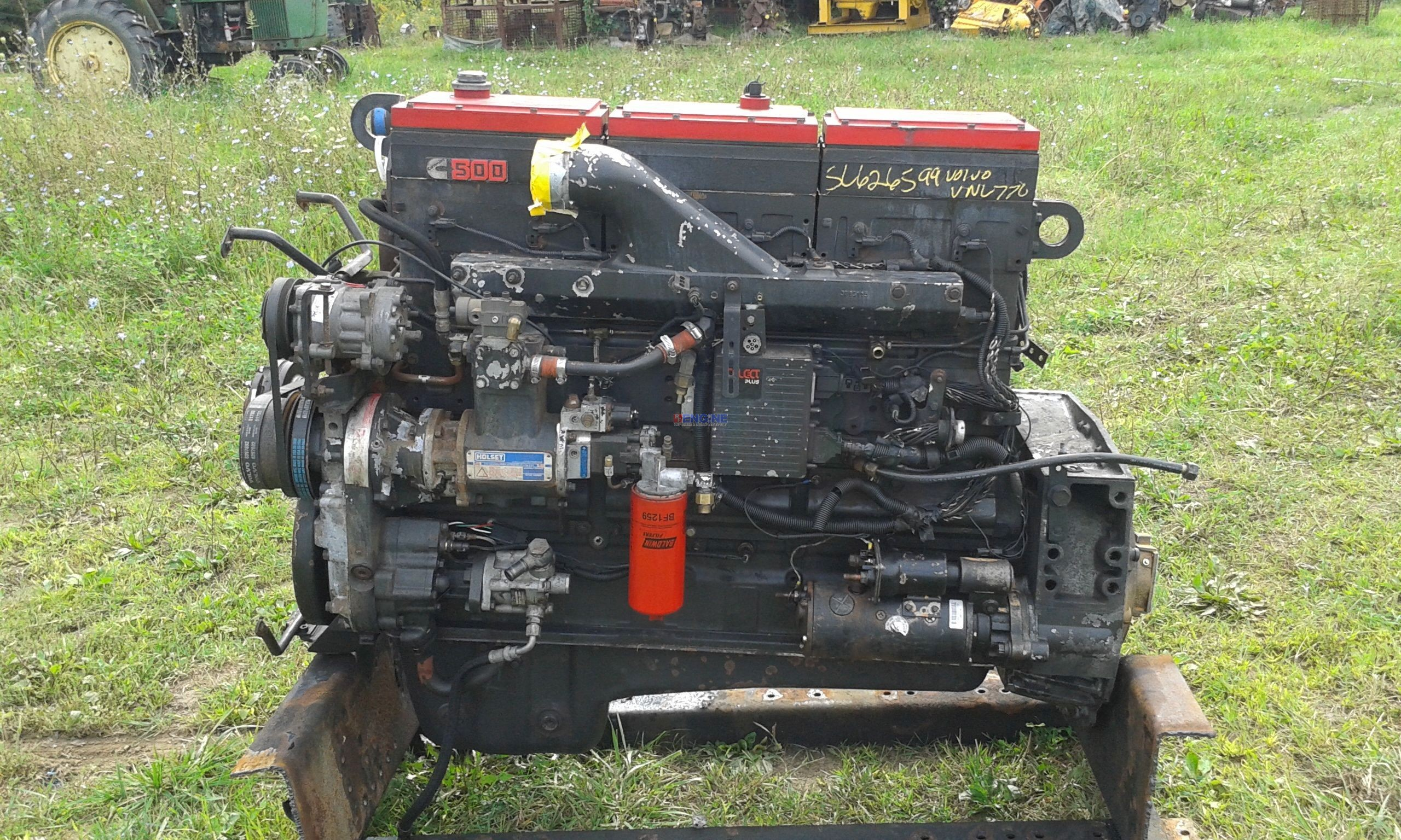 Cummins N14 Red Top Engine Complete Good Used Esn