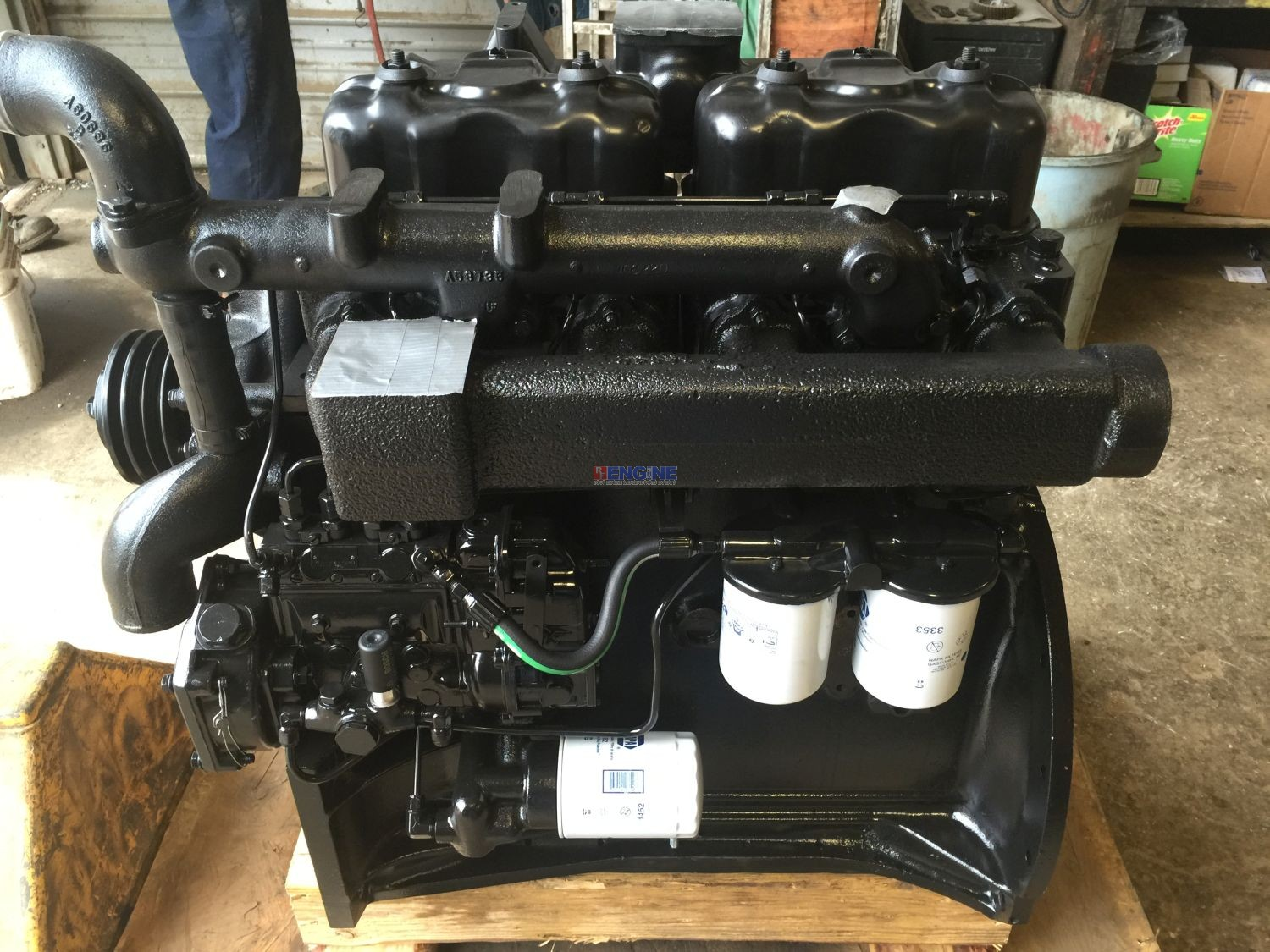 R. F. Engine Fits Case 336BD Engine Complete Small Main ...