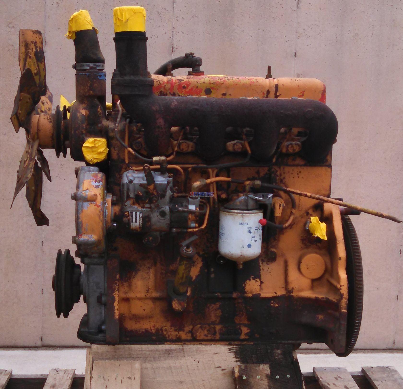 Case 207 Engine Good Running Block A136813 Test Ran 10 13