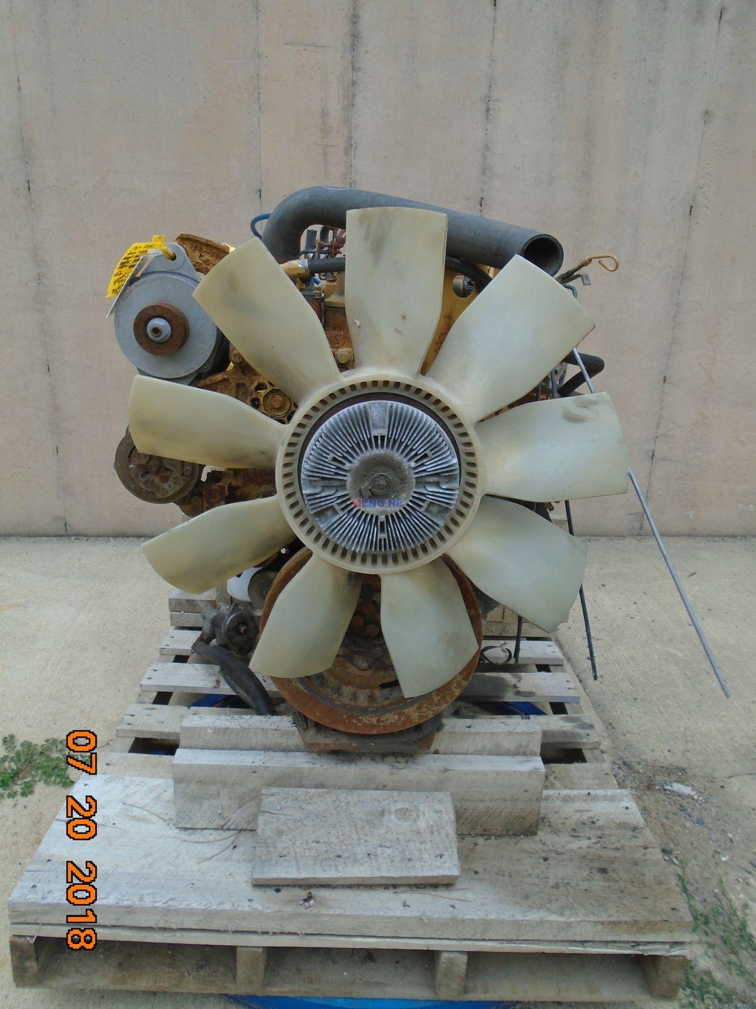 Caterpillar 3126-E Engine Complete Good Running A AR# 229-4681 Core AR#  205-1287