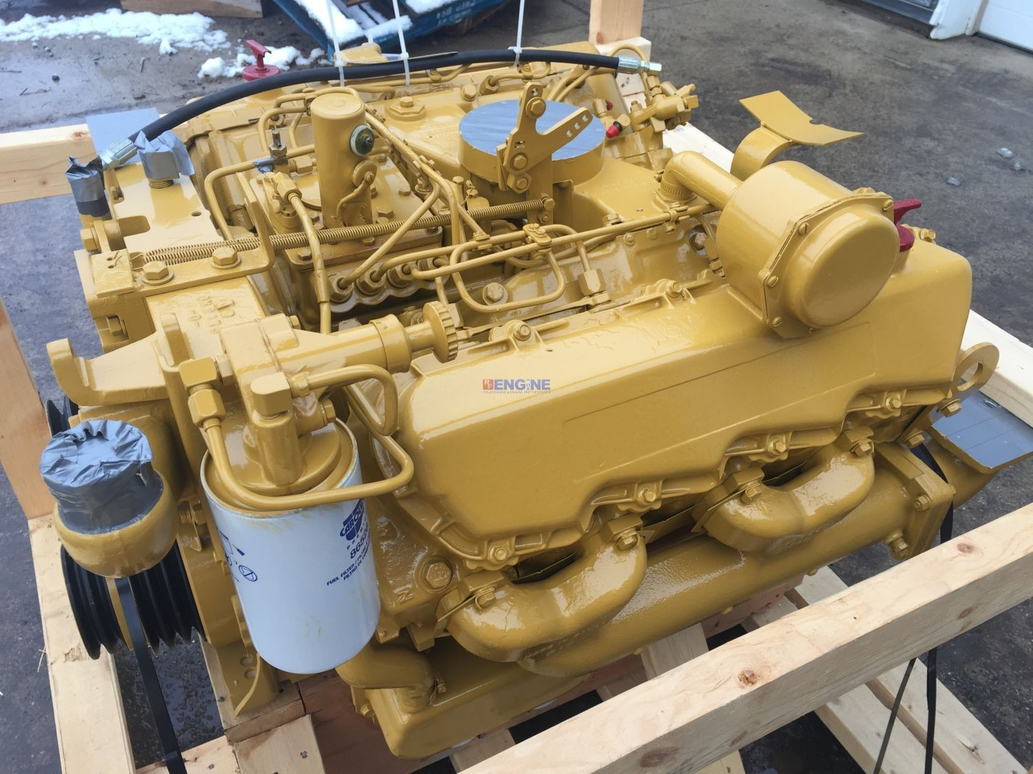 Caterpillar 3208 di engine complete