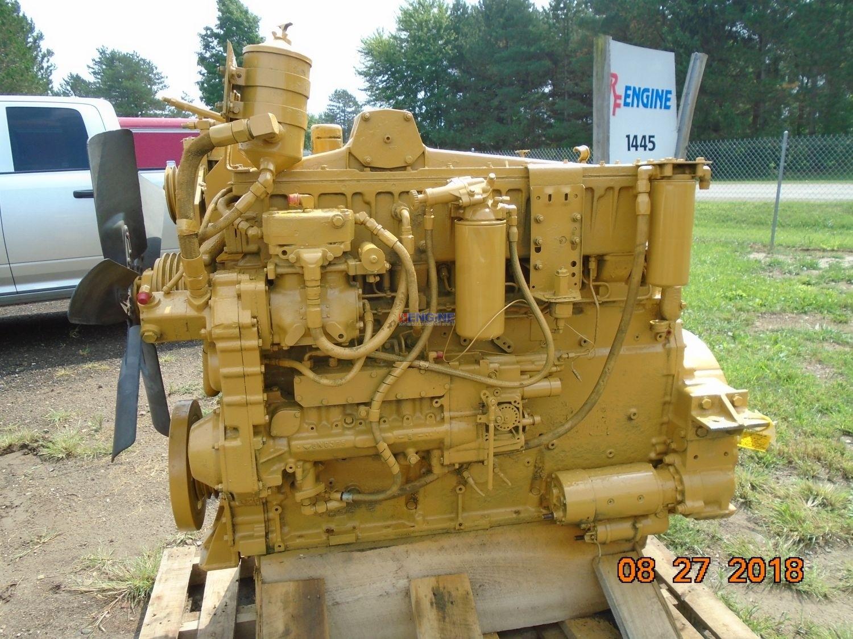 Caterpillar 3406B Engine Complete Good Runner ESN: 7FB09296, A/n: 4W9054