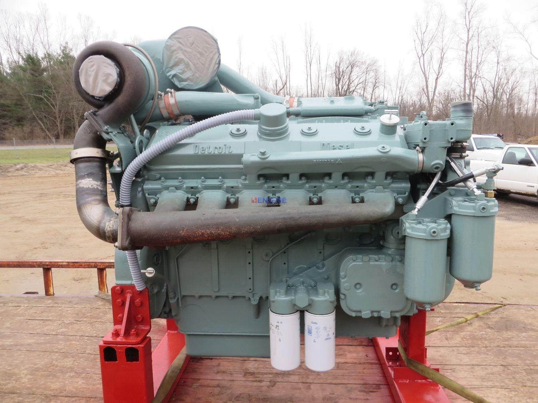 R F Engine Detroit Diesel 12v 71t Engine Complete Reman