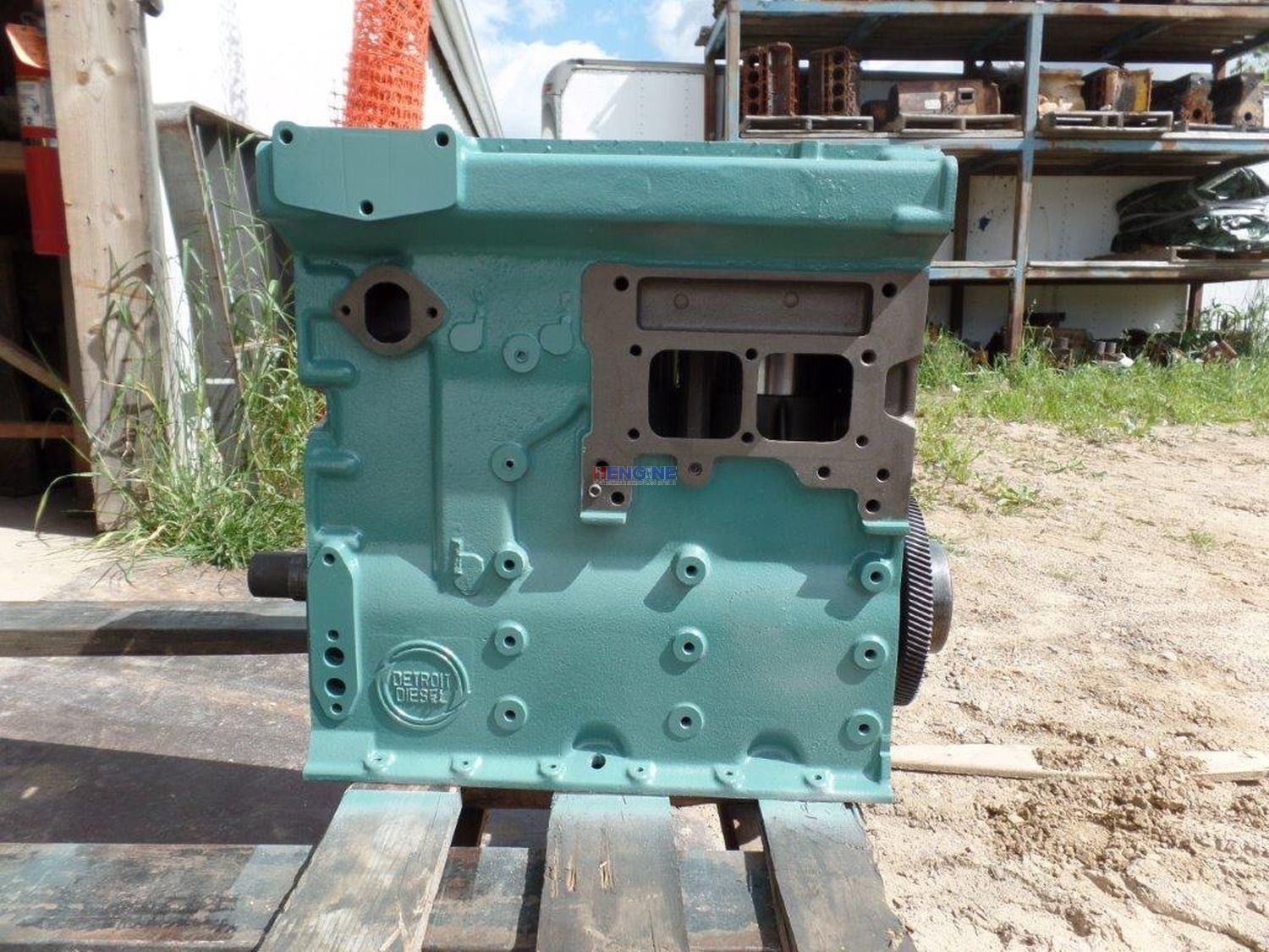 Detroit Diesel 3-53 Non Turbo Engine Short Block Reman BCN: 5132803