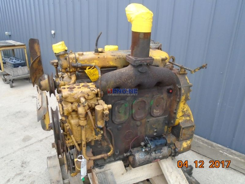 Detroit Diesel 4 71 Nat Early Engine Complete Good Running A Esn 4a 134317