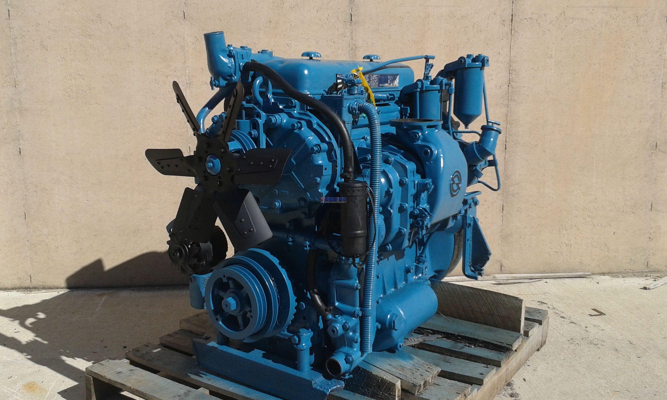 R F Engine Detroit Diesel DT 4 71 Engine Complete Good