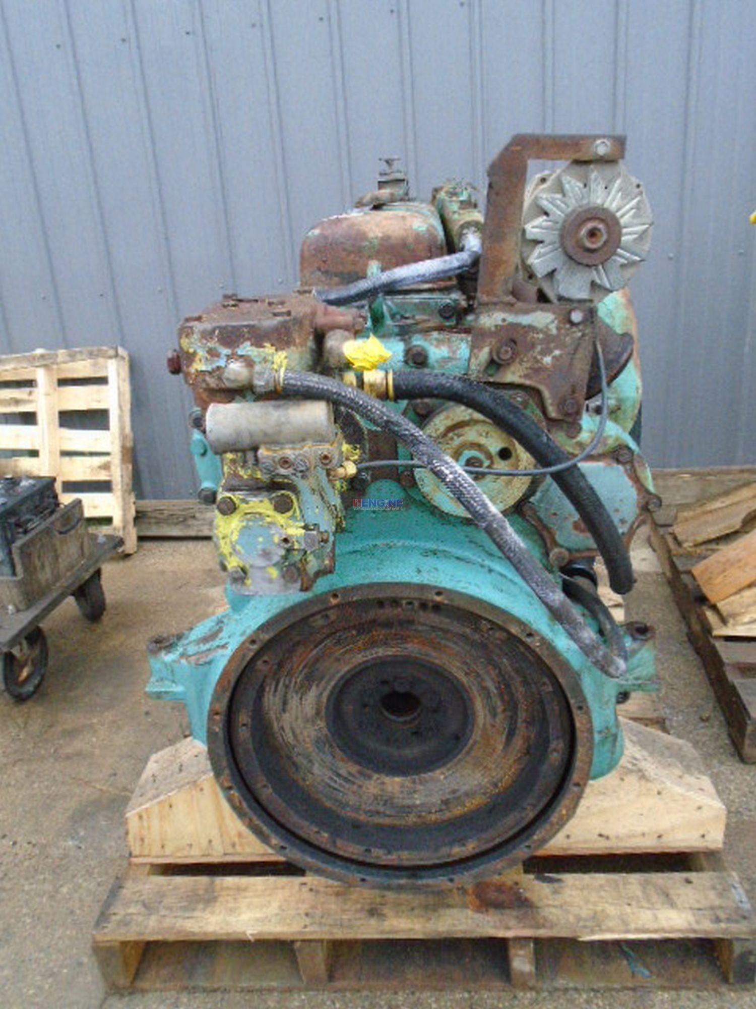 Detroit Diesel 6-71 Nat OEM Engine Complete Running Core C+ ESN: 6A354578
