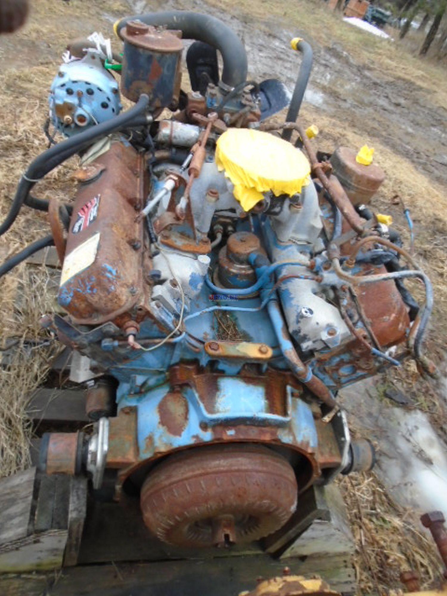 R F Engine Detroit Diesel V8 82L OEM Engine Complete