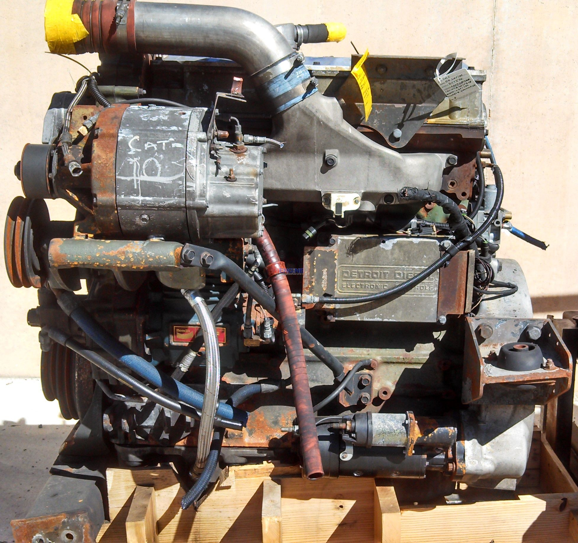 R. F. Engine Engine Good Running Detroit Diesel 50 series S/N: 04R0035678 BLOCK: 2351299