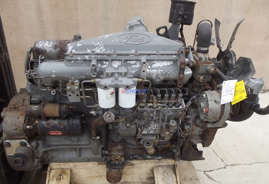 Engine Good Running Ford Newholland 7 8 474 Cubic