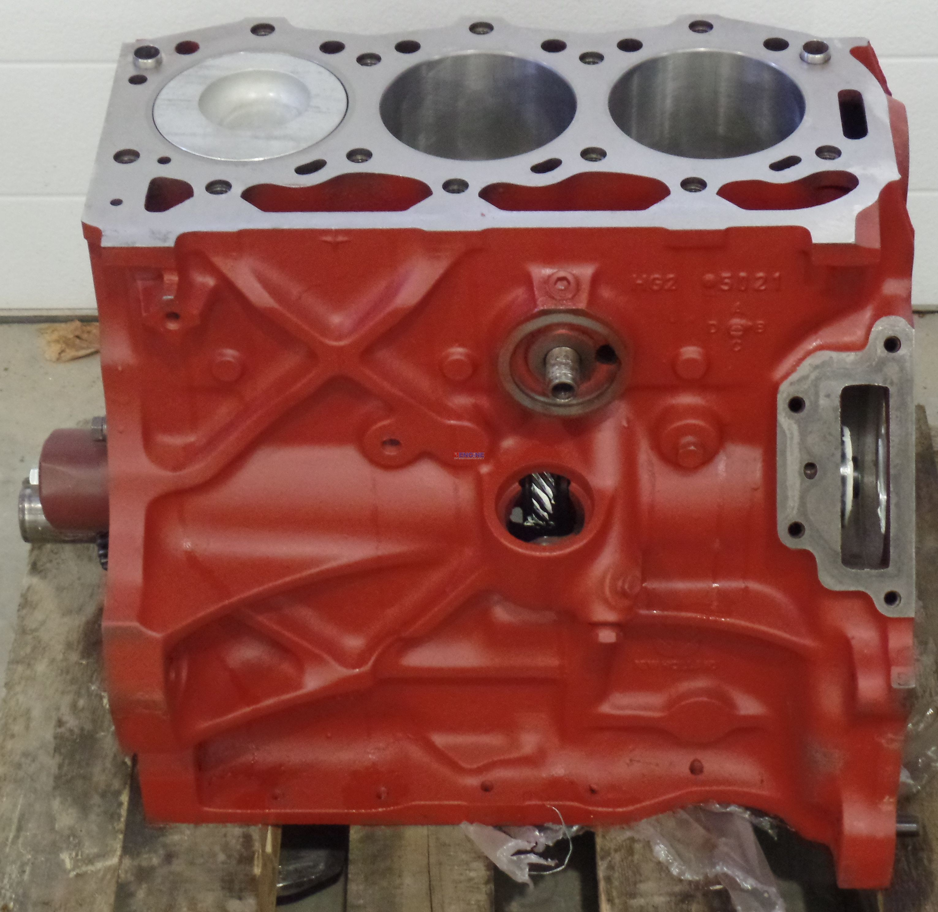 Ford / Newholland FO 201 Engine Short Block Recondition Block Casting 87800081