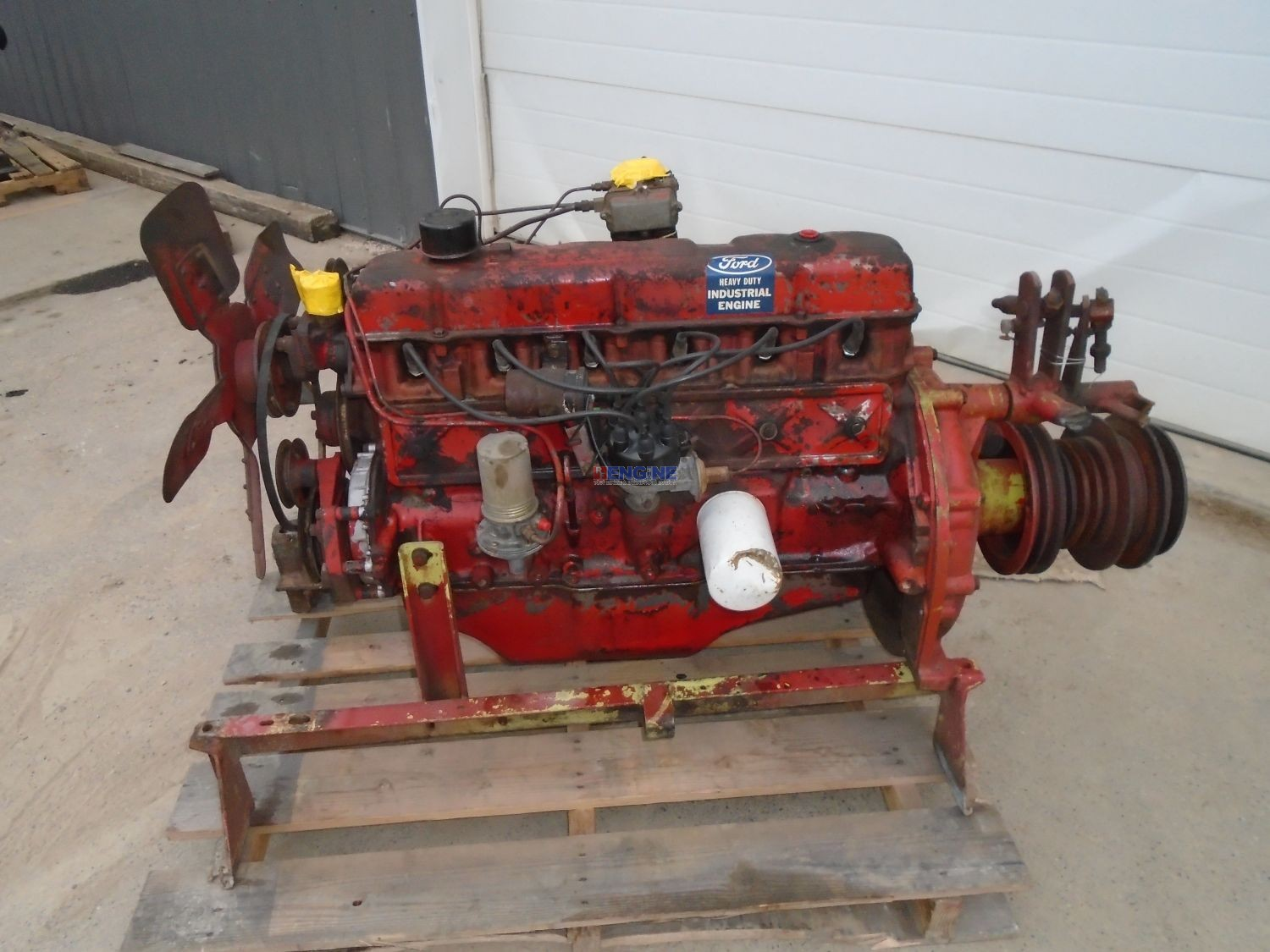 Ford Newholland 240 Cid Engine Complete Core Grade A