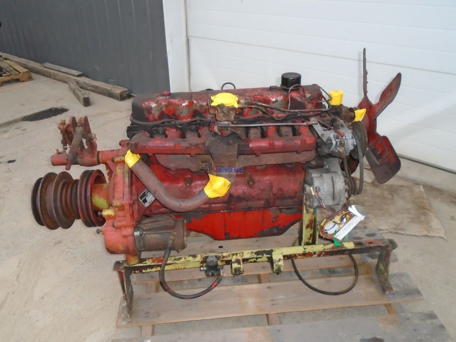 r  f  engine ford    newholland 240