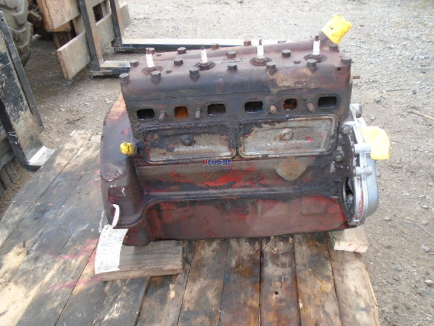 Ford 9n Tractor Parts Terminal Block : Ford newholland n l oem engine long block