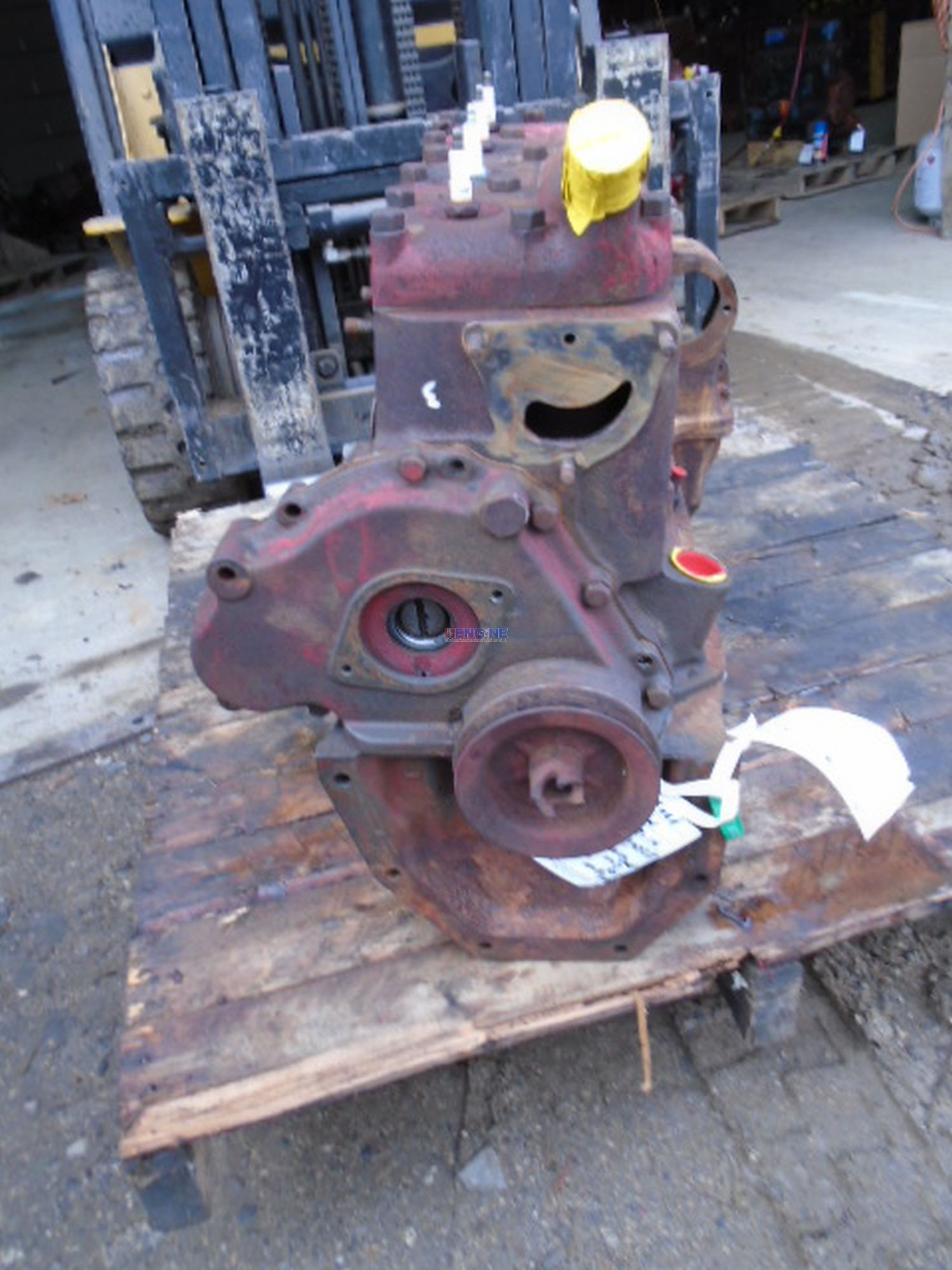 R F Engine Ford Newholland 8n 20l Oem Long Block Cooling System
