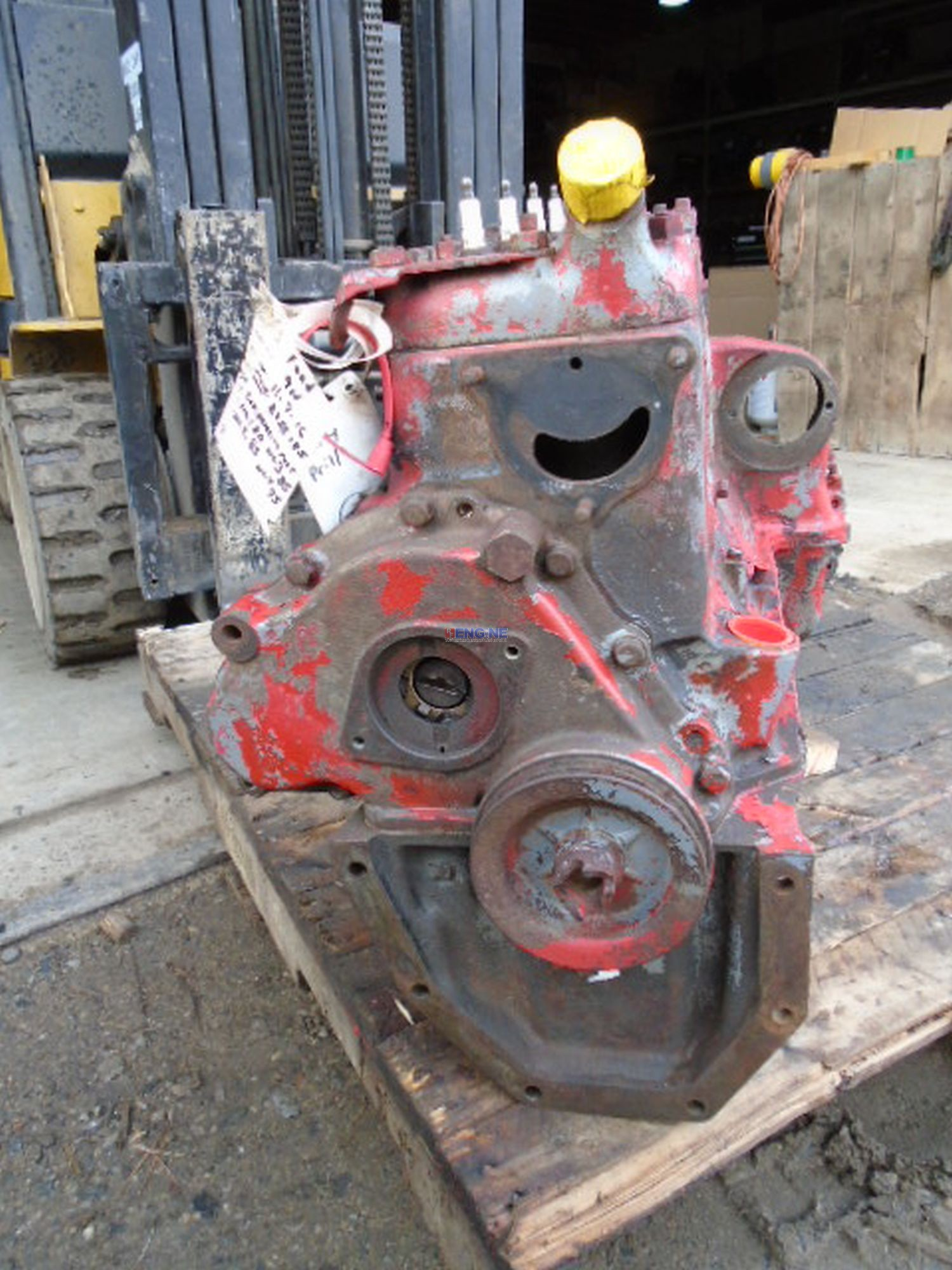Ford Tractor Cam : Ford newholland n l oem engine long block