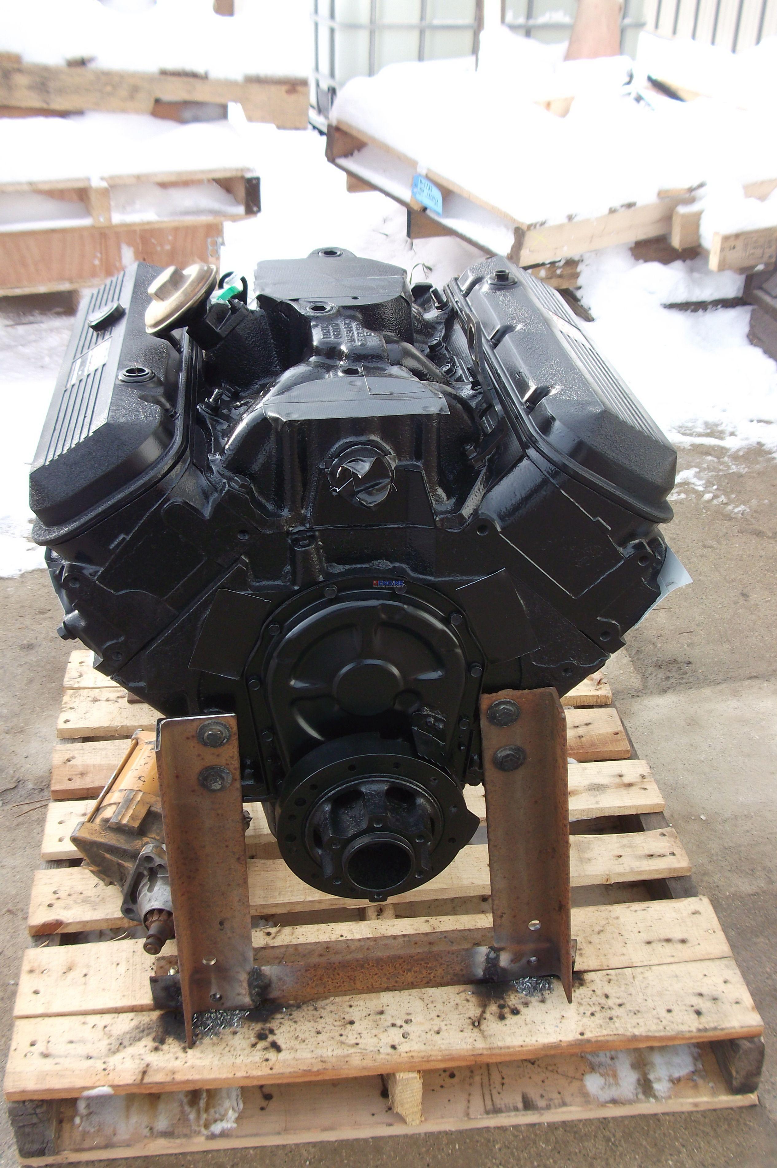 General Motors Gm 366 Big Block V 8 6 0 L Engine Long