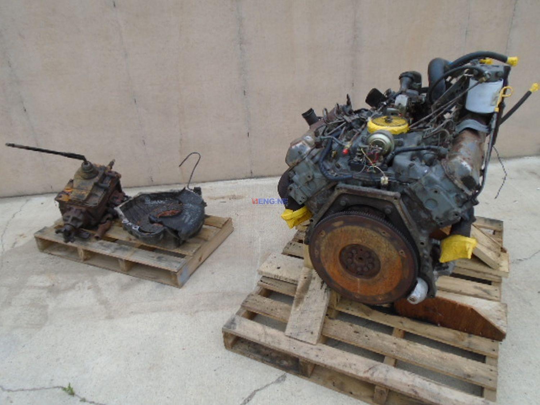 R  F  Engine Fits International 7 3 Idi Engine Complete