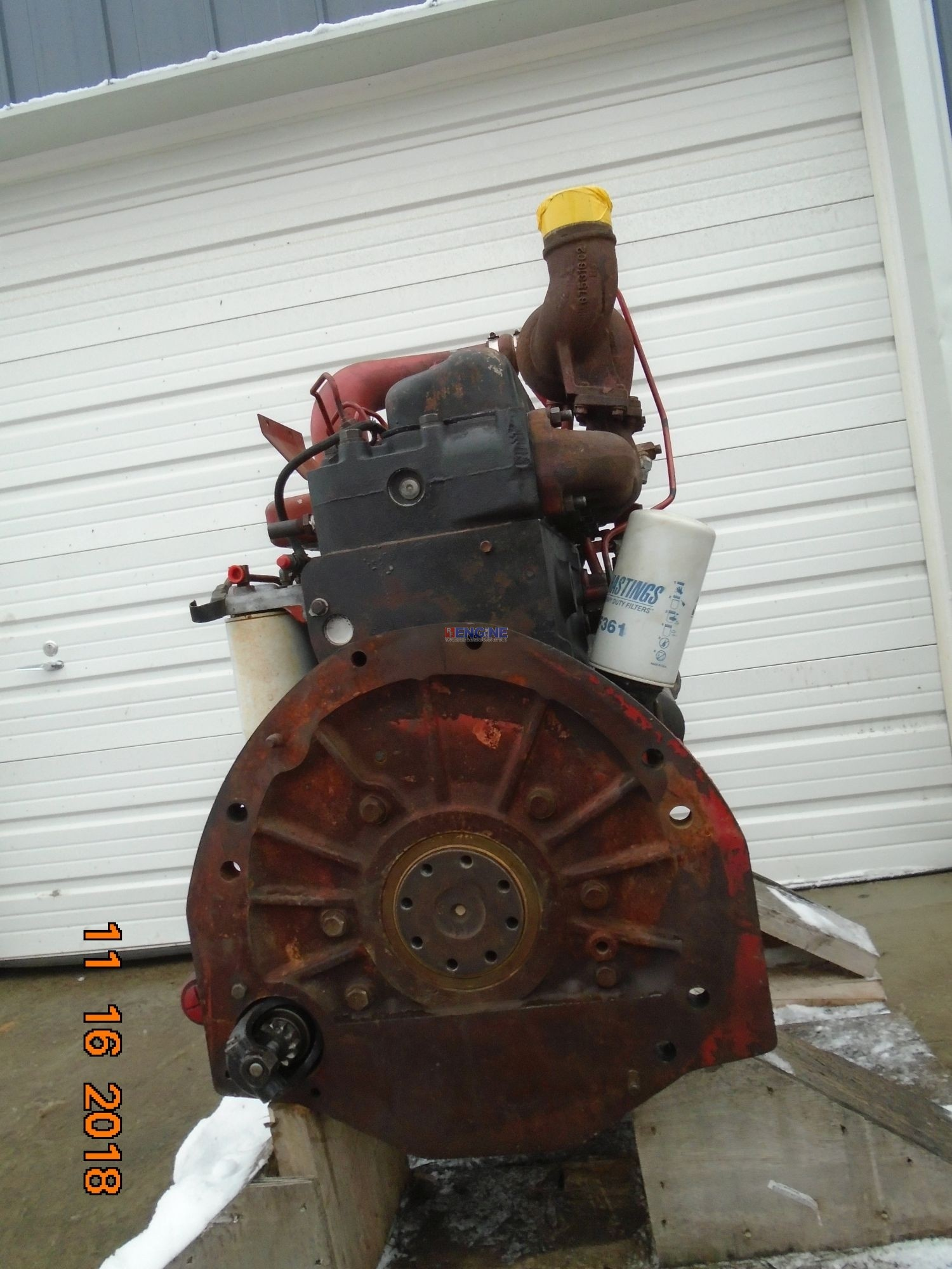 International DT466 Engine Complete Good Runner ESN: 466DT2U093982