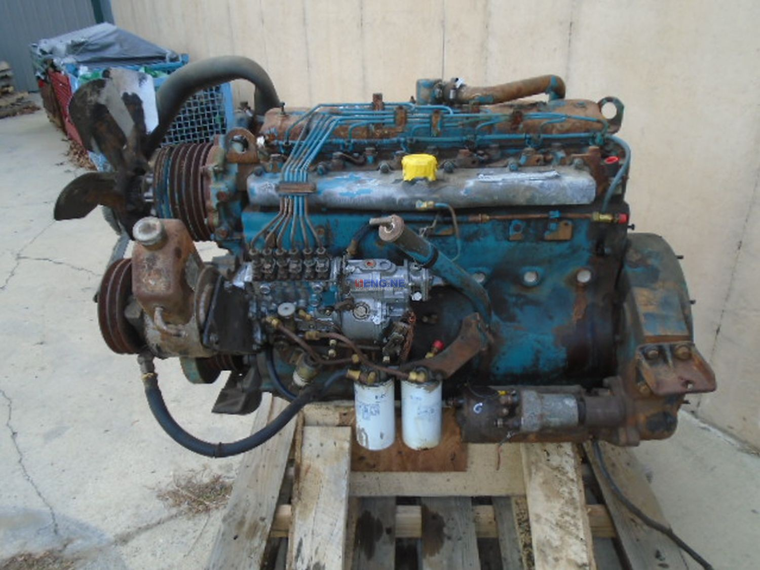 r  f  engine international dt466   u0026quot c u0026quot  model  7 6l oem