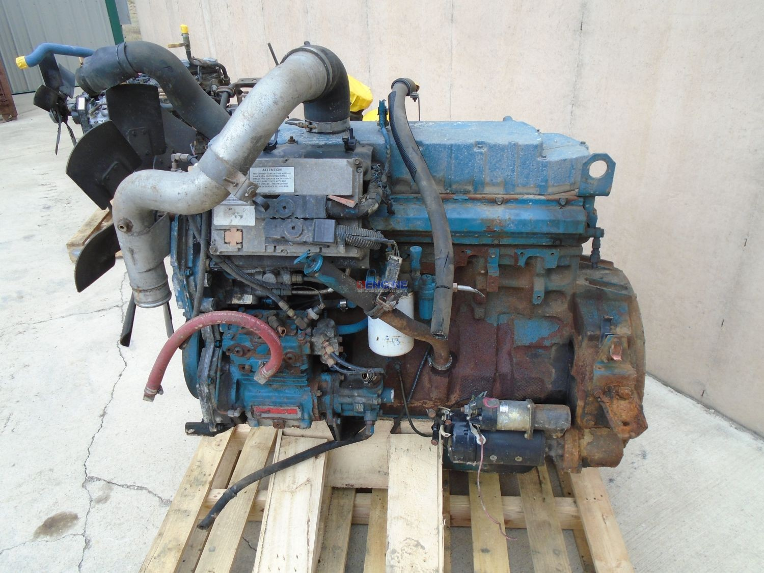 International Dt466e Engine Complete 1999 Good Running A