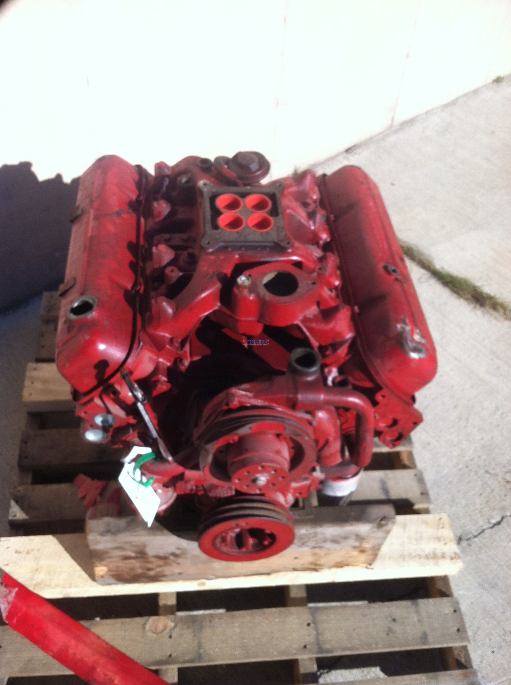 R F Engine International Ih V8 392e Engine Long Block