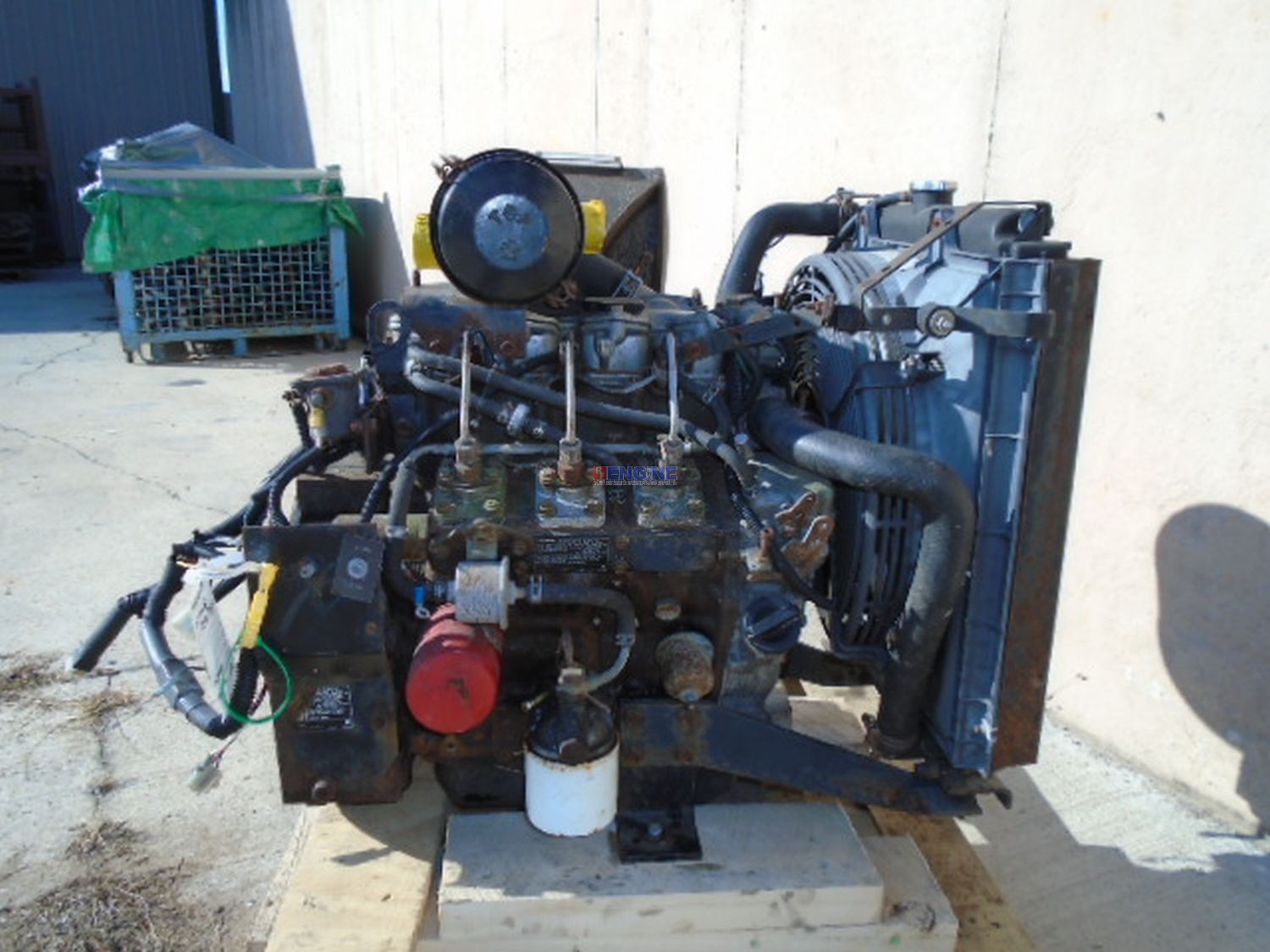 R F Engine Isuzu 3LB1 I.D.I. OEM Engine Complete Good Running A Fam#  5SZXL01.1XNA Code# 3LBR F Engine