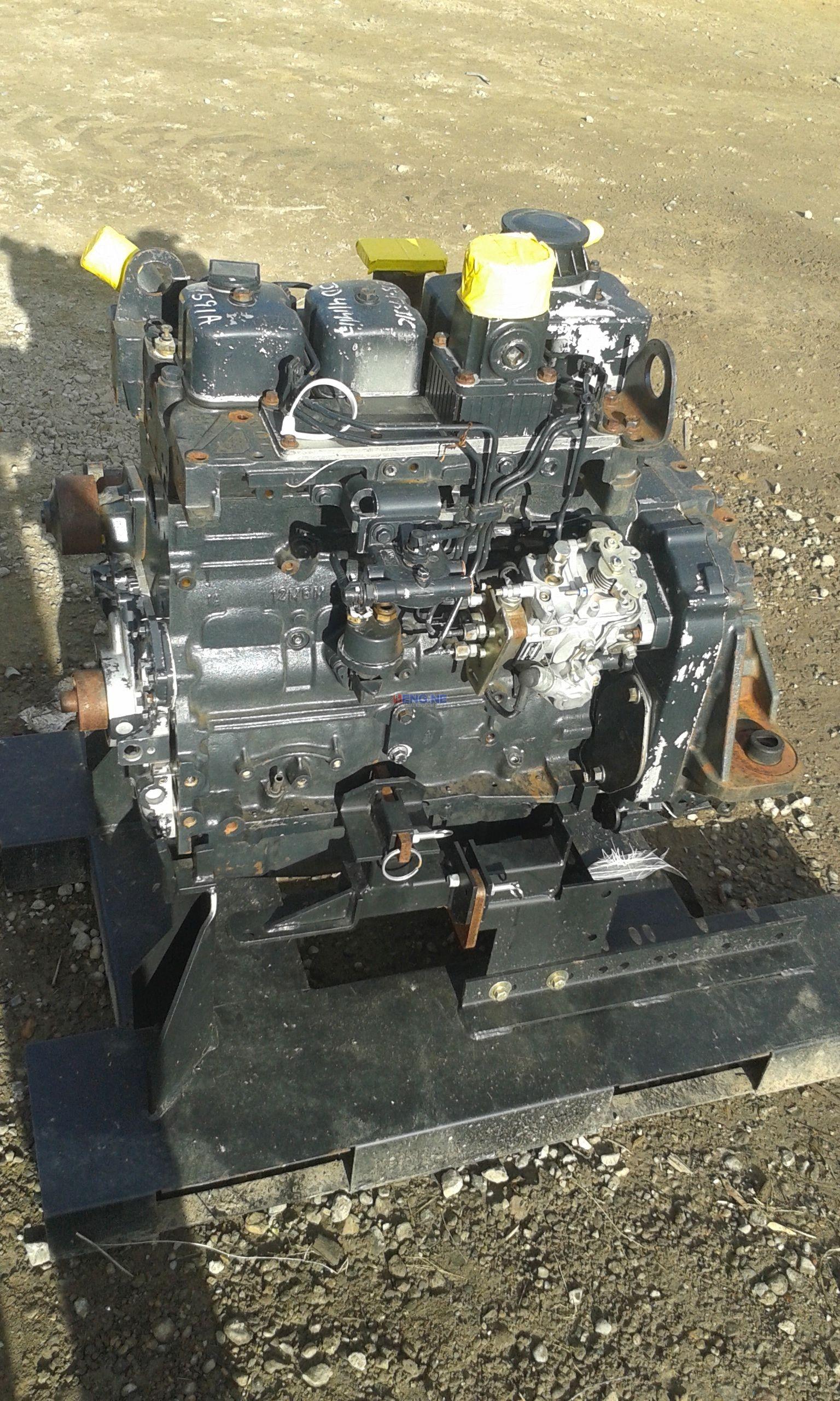 R. F. Engine Iveco Case NEF 445T M2 Engine Complete Core ESN 683919-16 BCN 4896382
