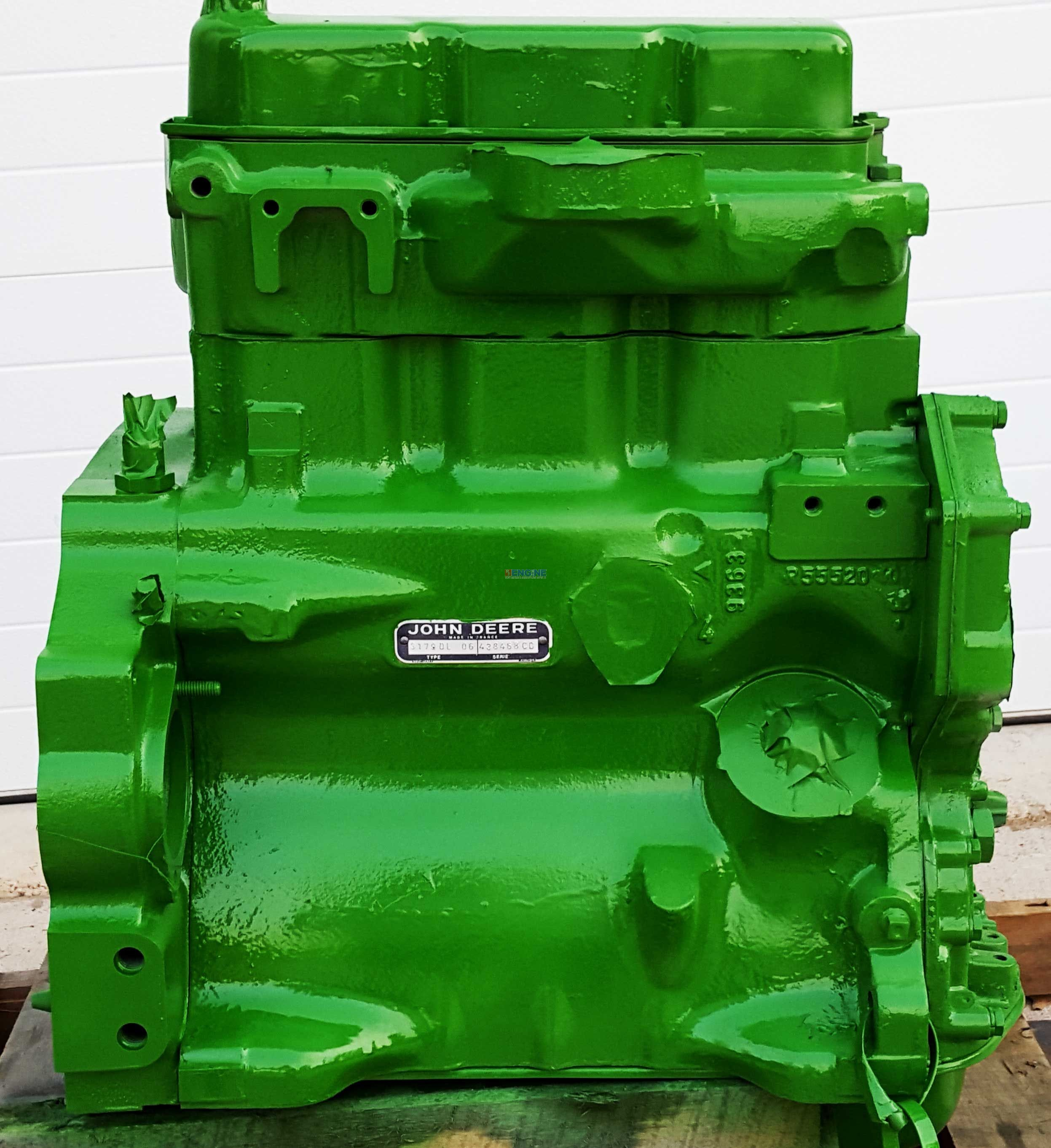 John Deere Block : R f engine john deere jd d long block