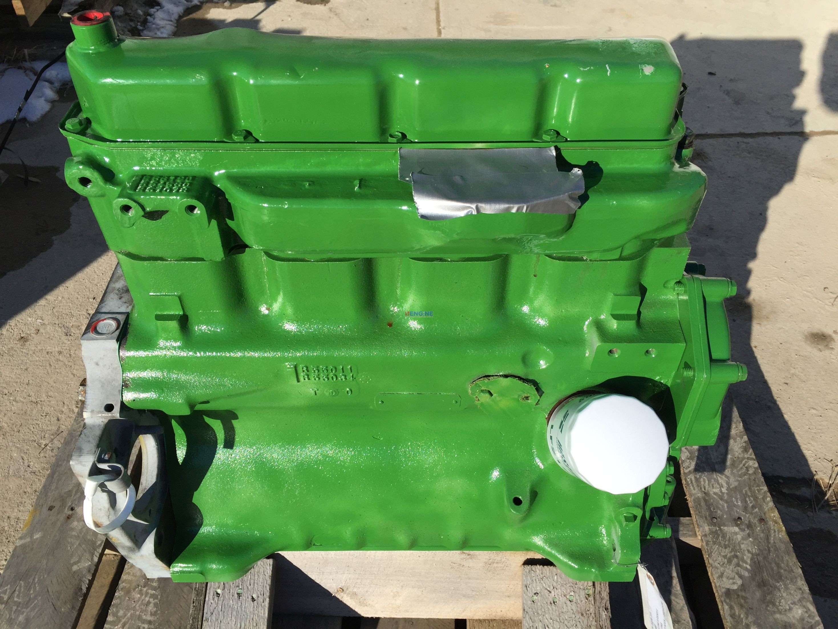 John Deere Block : R f engine john deere jd long block rebuilt