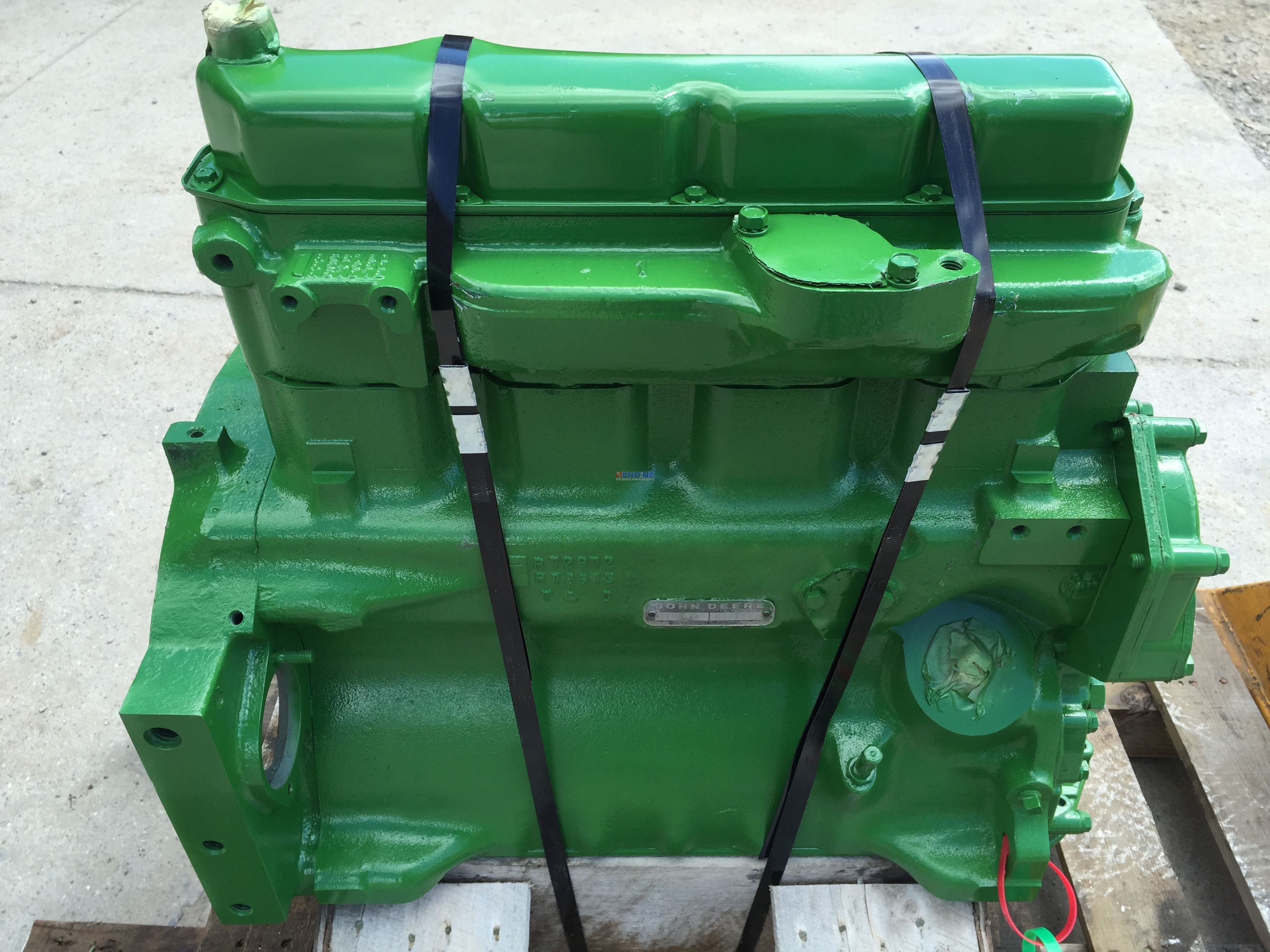 John Deere Block : R f engine john deere jd dt long block