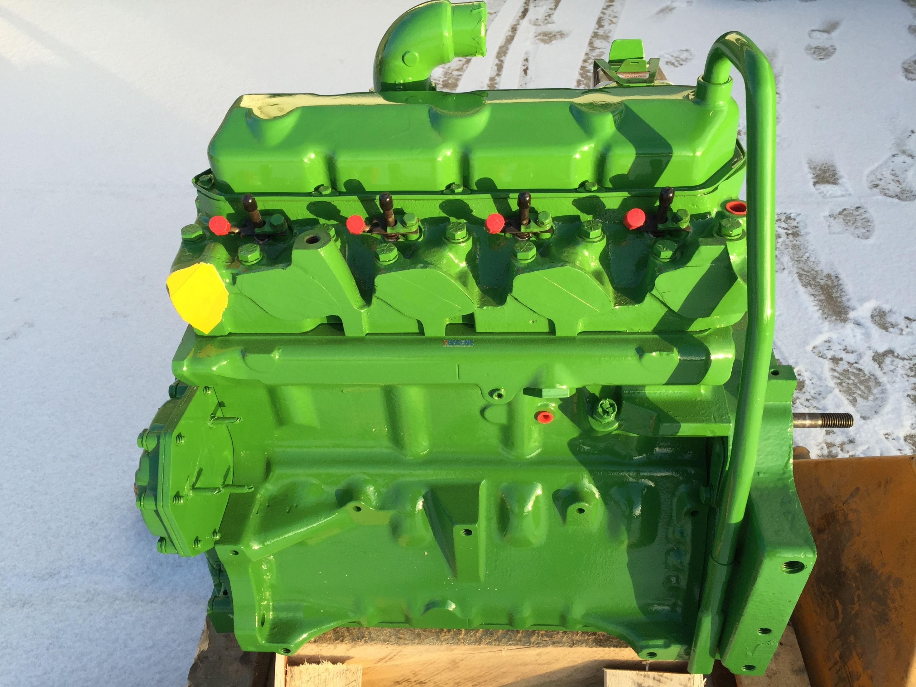 John Deere Block : R f engine john deere jd tl long block