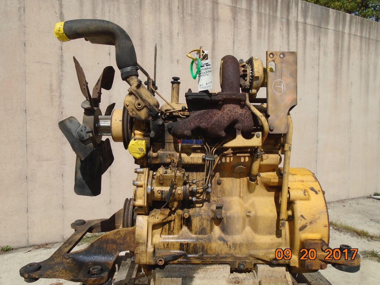 R  F  Engine John Deere 276t Oem Engine Complete John Deere 550g Dozer   Running B