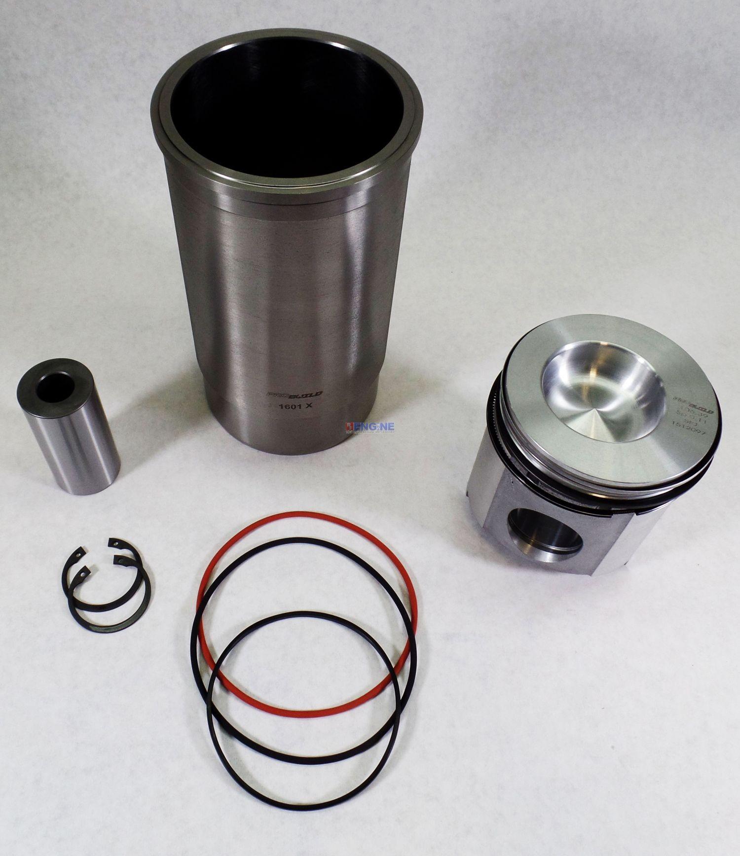R F Engine Fits John Deere 4276t 4045t 6414t Cylinder Kit New 955 Wiring Harness 6068t